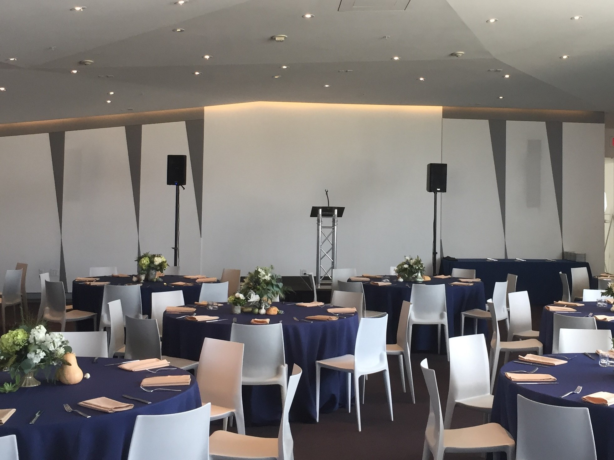 Picture of AV for You audio and staging rental at the Walker Art Center