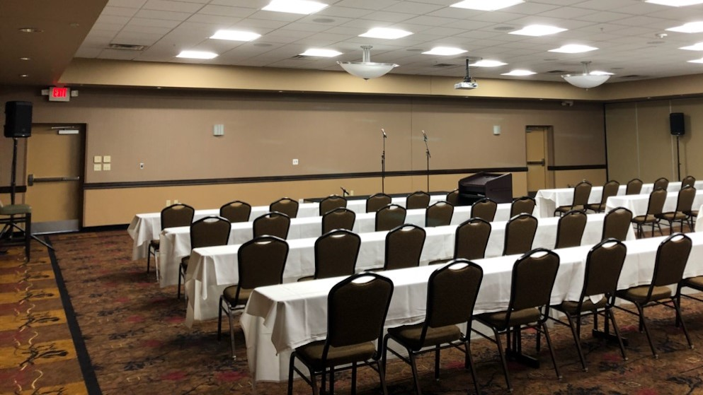 Picture of AV for You PA system rental at the Best Western MOA in Bloomington