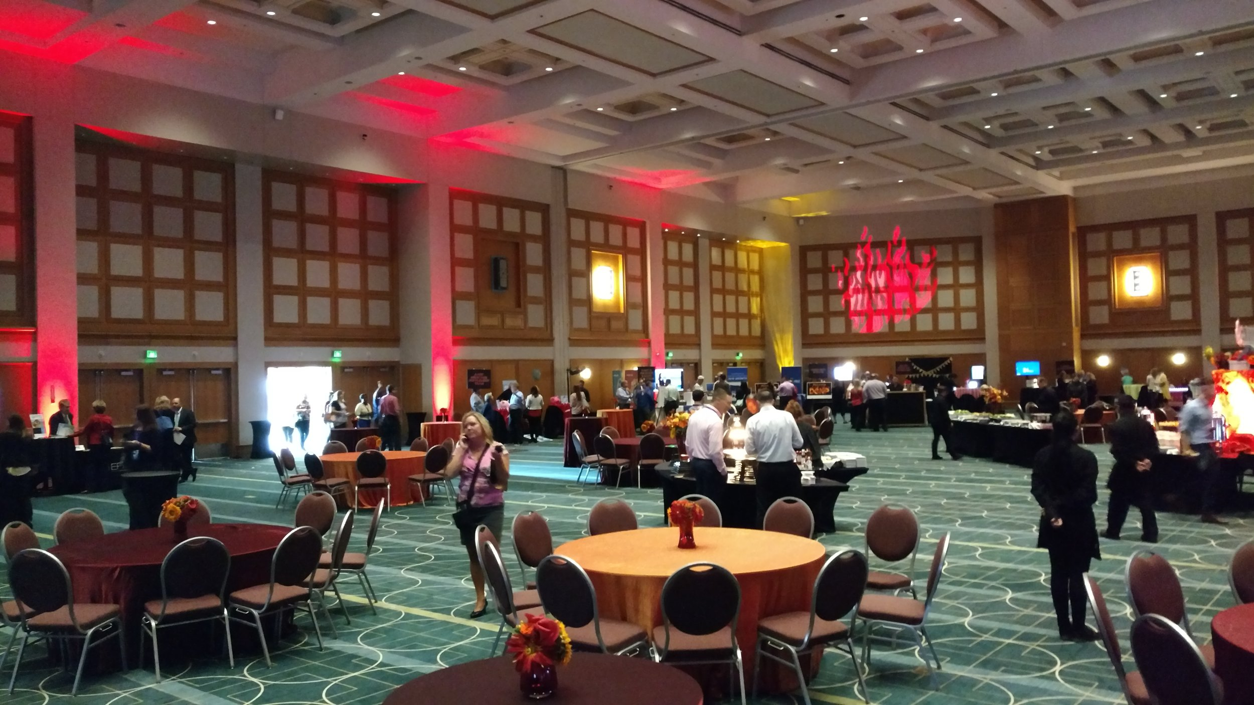 Picture of AV for You TV and Lighting rental equipment at the Mpls Convention Center