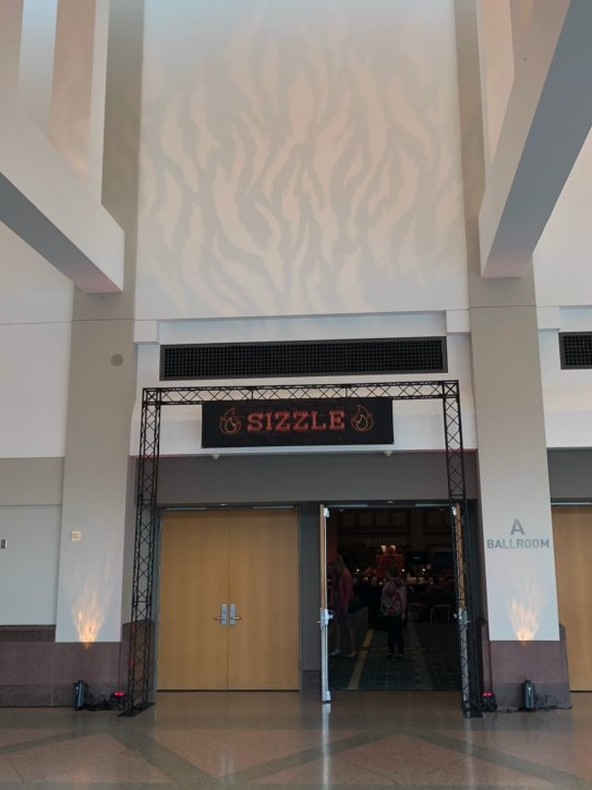 Picture of AV for You Lighting rental equipment at the Mpls Convention Center