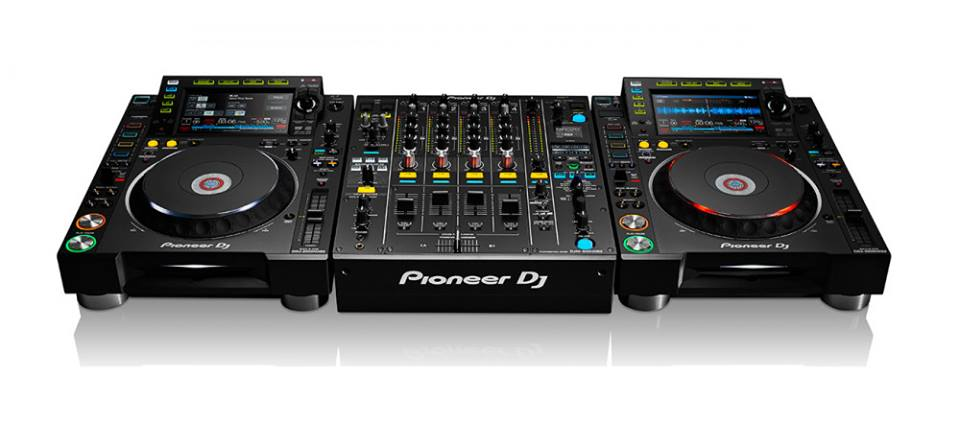 Picture of AV for You Professional DJ Equipment - Pioneer CDJ-2000NXS2 available to rent
