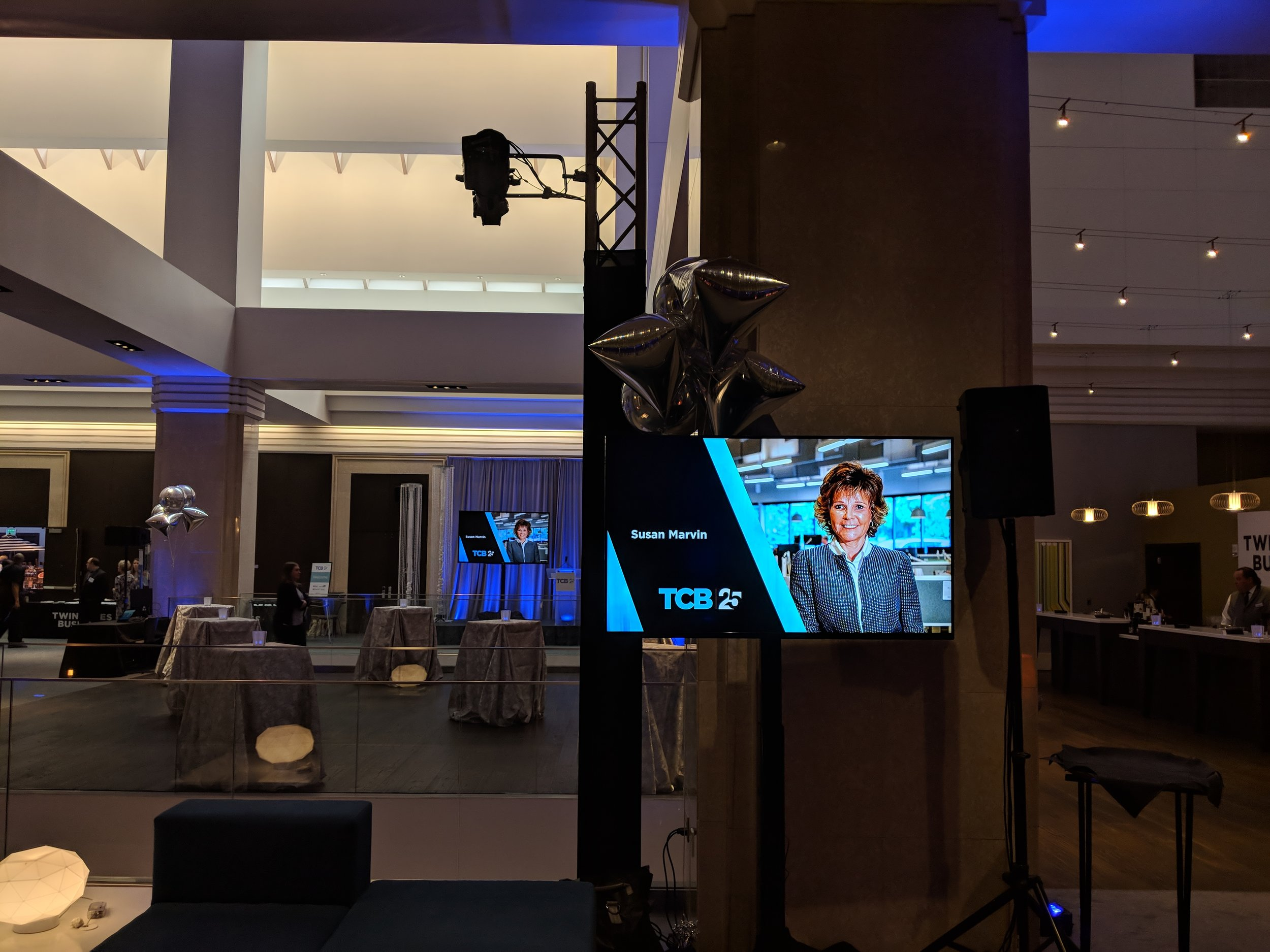 Picture of AV for You equipment rental at the Radisson Blu in Minneapolis