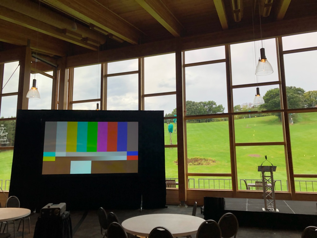 Picture of AV for You equipment rental at Hyland Hills Chalet in Bloomington