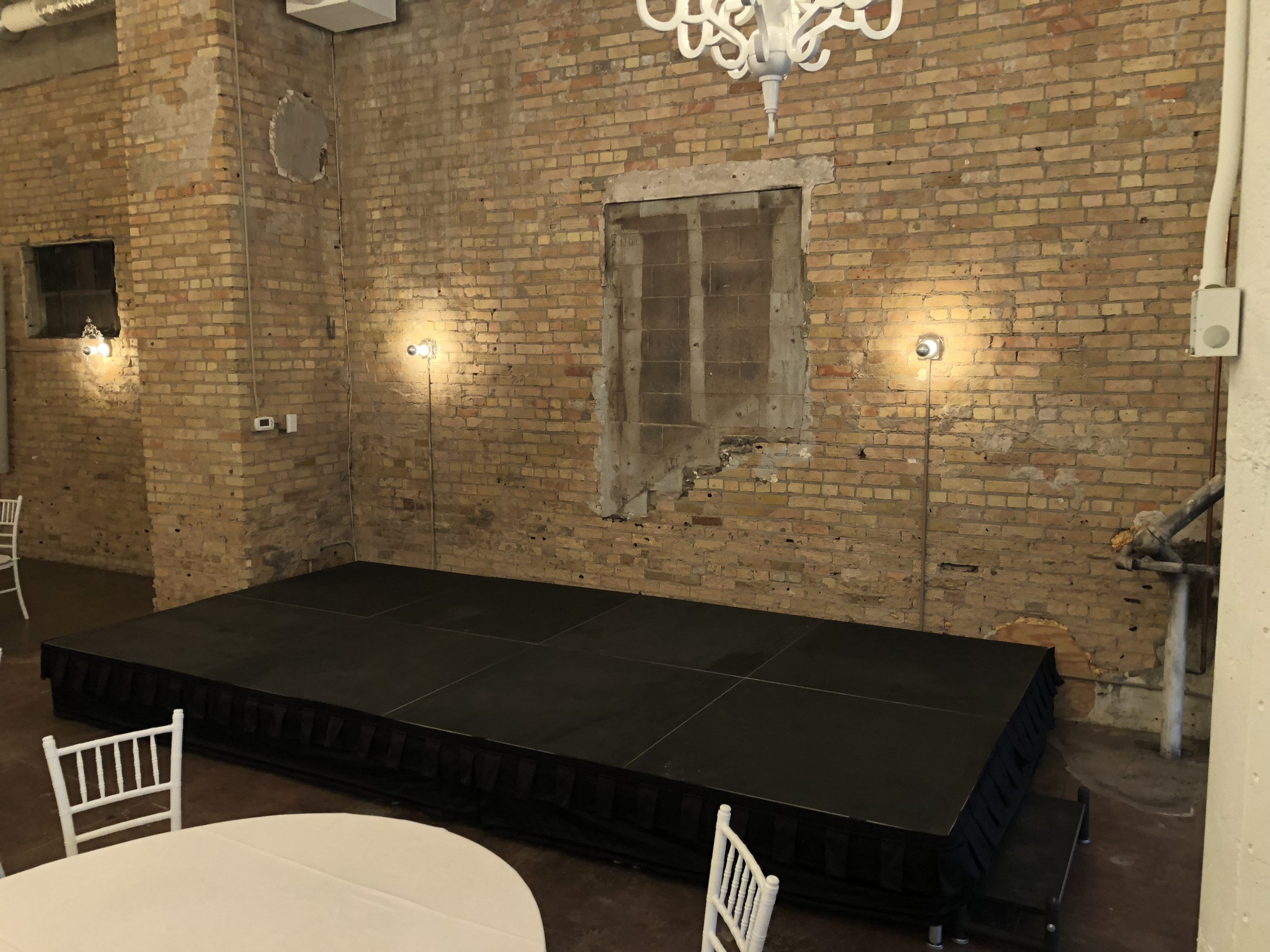 Picture of AV for You stage rental at the Loring Social in Minneapolis