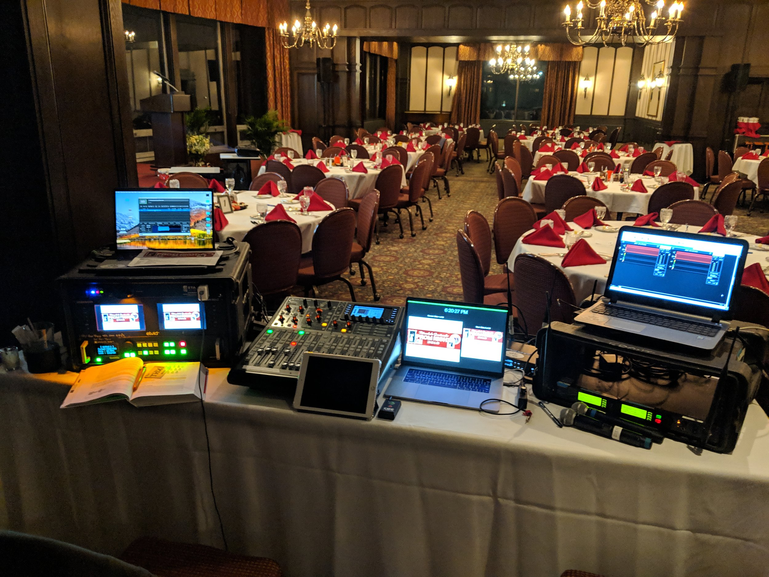 Picture of AV for You Rental Equipment at the Town and Country Club in St Paul