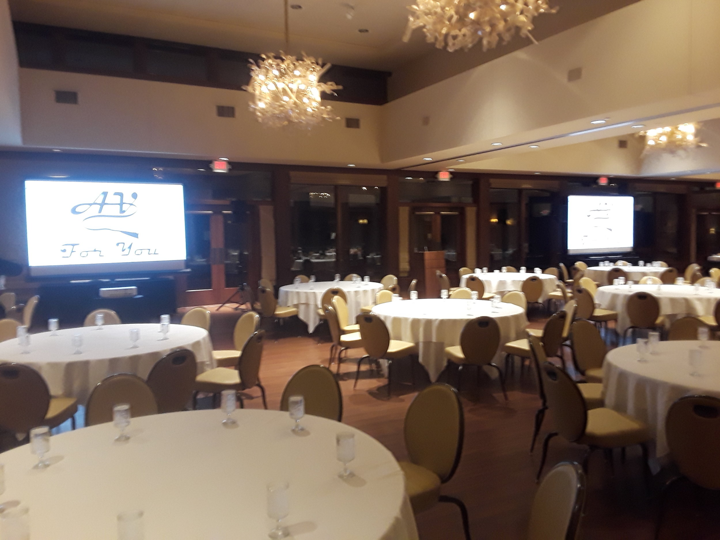 Picture of AV for You Rental Equipment at the Oak Ridge Country Club in Hopkins, MN