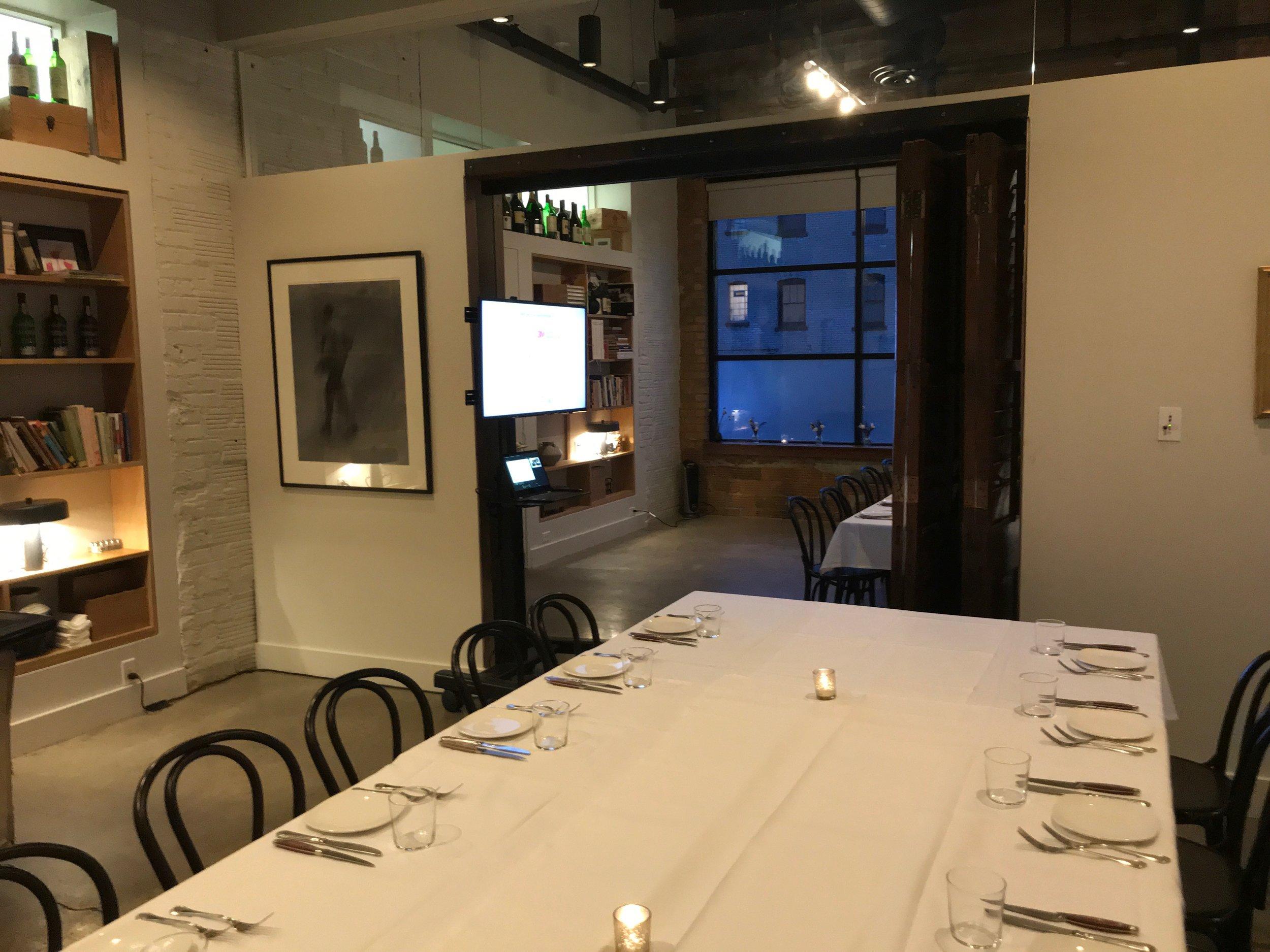 Picture of AV for You TV Rental at Restaurant Alma in Minneapolis