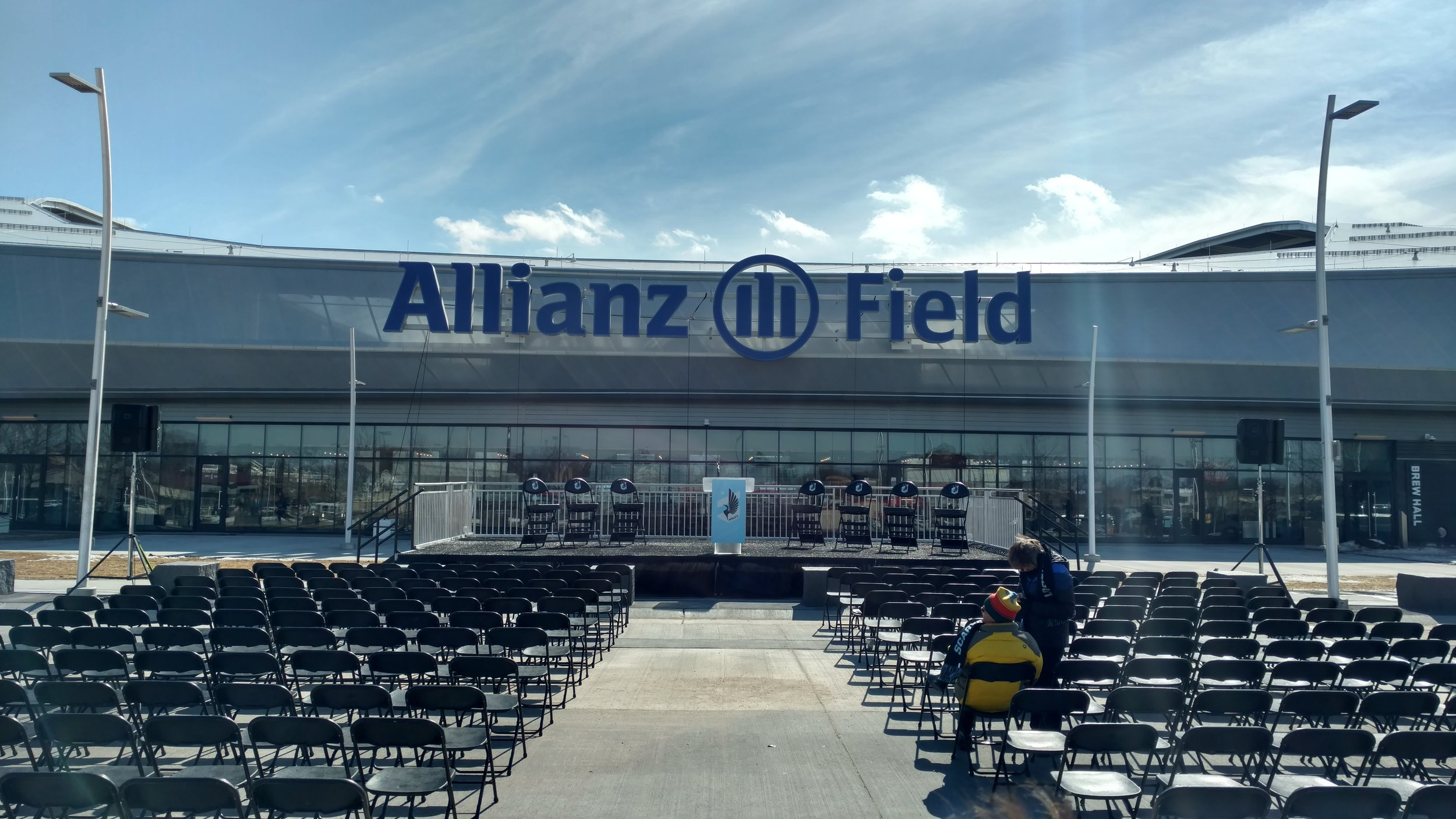 Picture of AV for You Rental Equipment at Allianz Field
