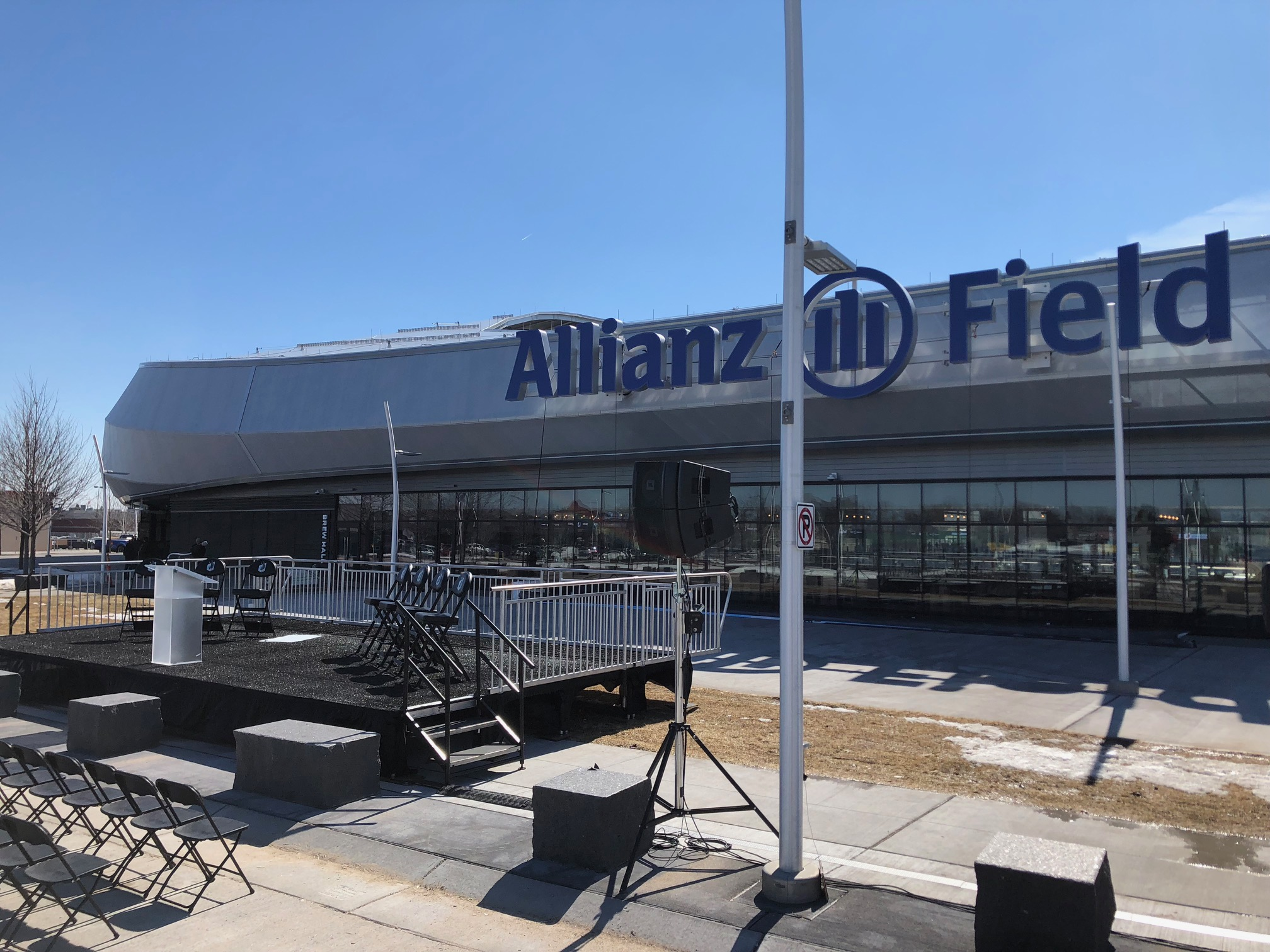 Picture of AV for You Rental Equipment at Allianz Field in St Paul