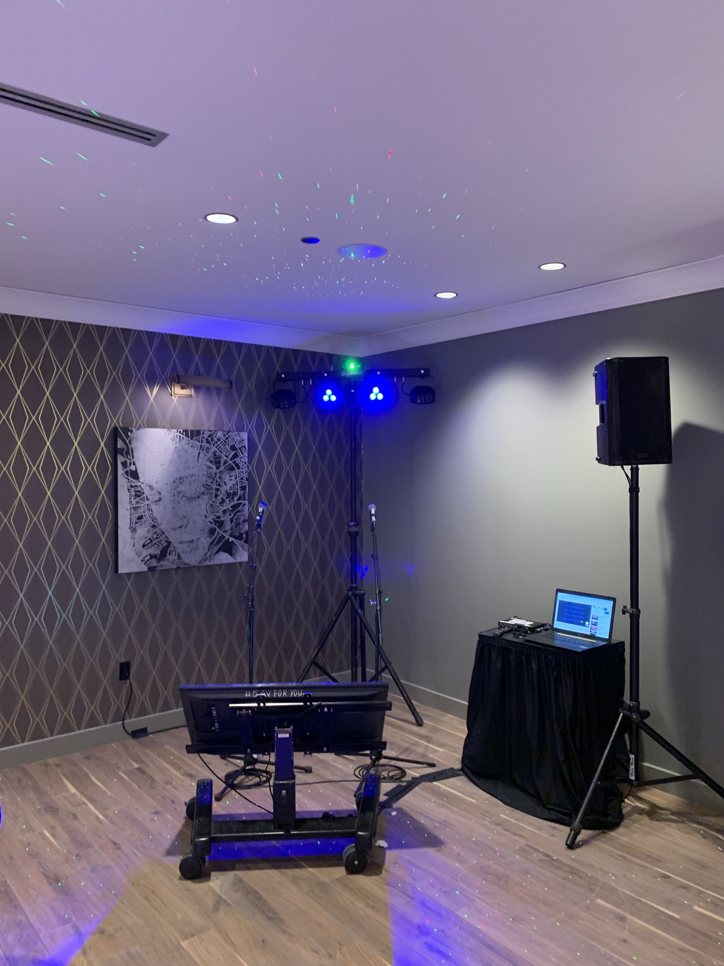 Picture of AV for You Deluxe Karaoke Package Equipment Rental at Intercontinental Hotel MSP Airport