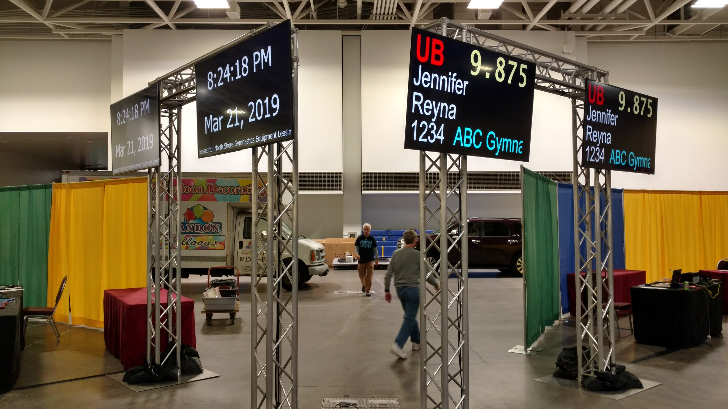 Picture of AV for You rental equipment at the Minneapolis Convention Center