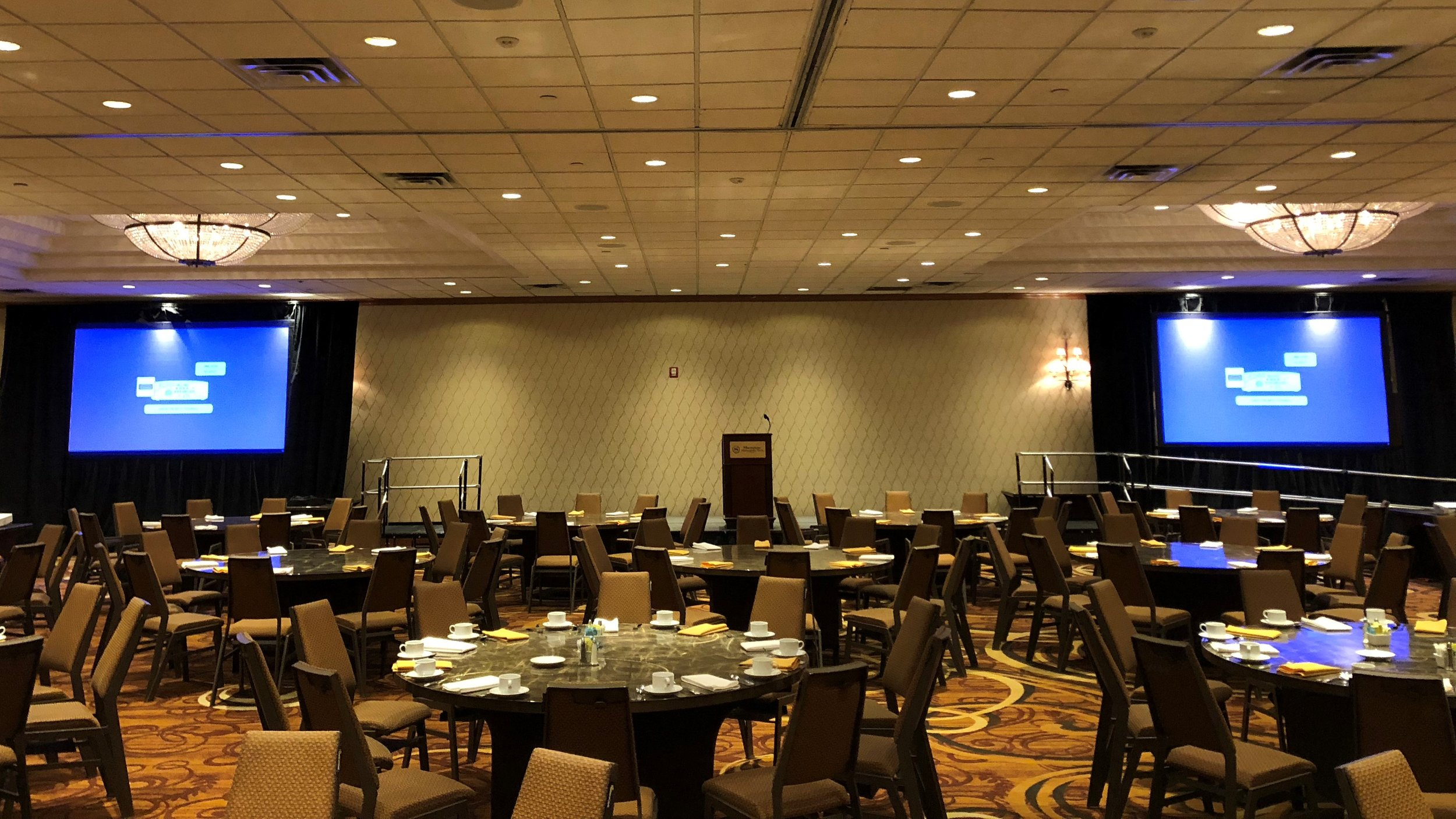 Picture of AV for You Audio Visual Rental Equipment at the Sheraton Minneapolis West Hotel