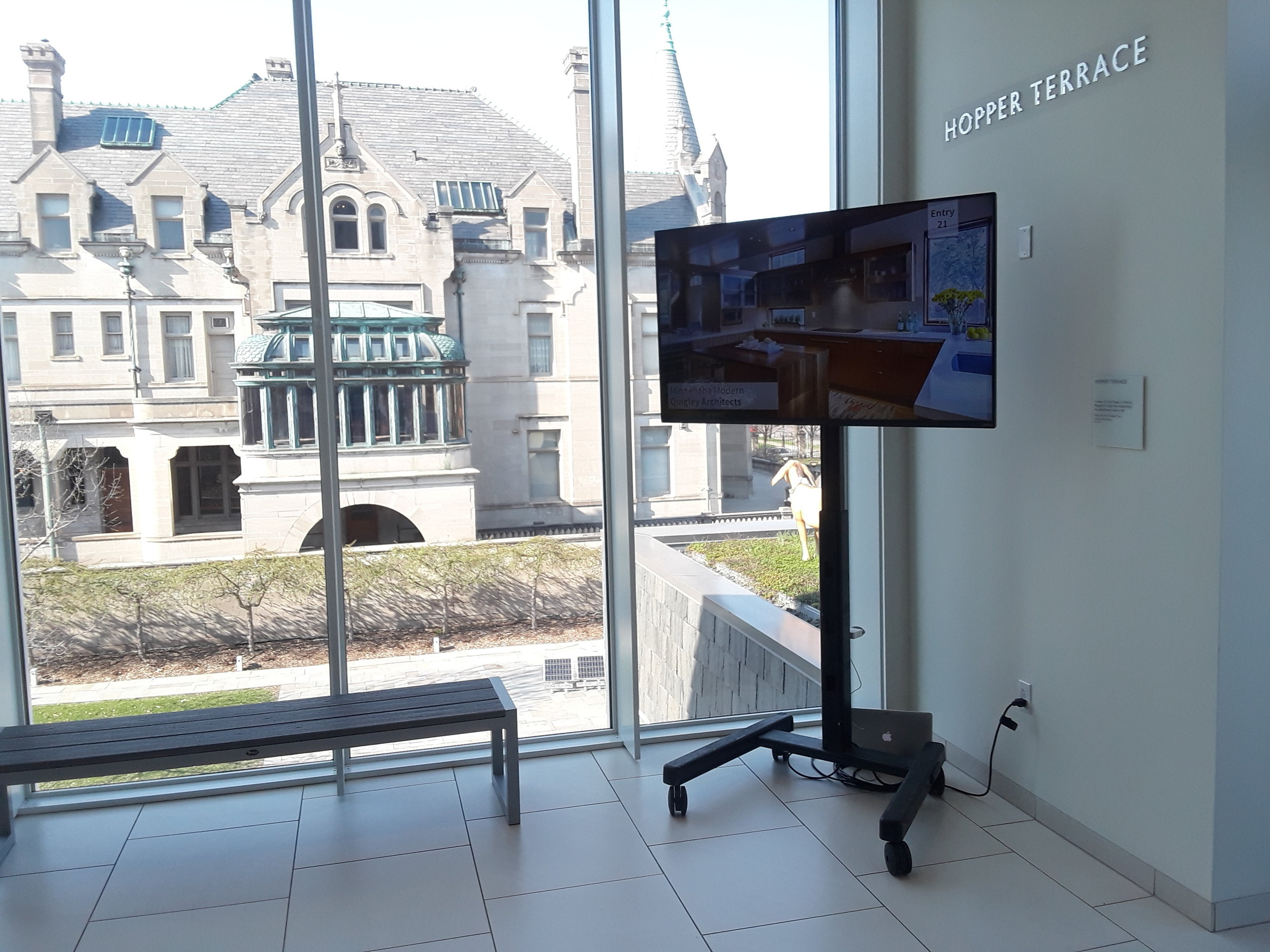 Picture of AV for You TV Rental at the American Swedish Institute in Minneapolis