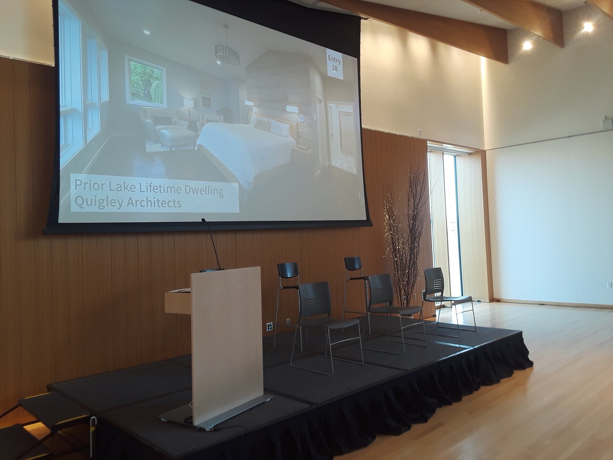 Picture of AV for You Rental Equipment at the American Swedish Institute in Minneapolis