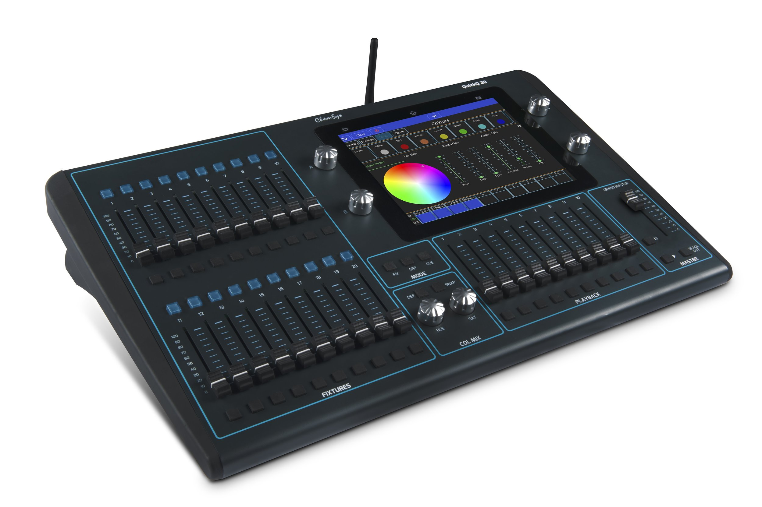 Picture of AV for You ChamSys QuickQ 20 Lighting Board available to rent