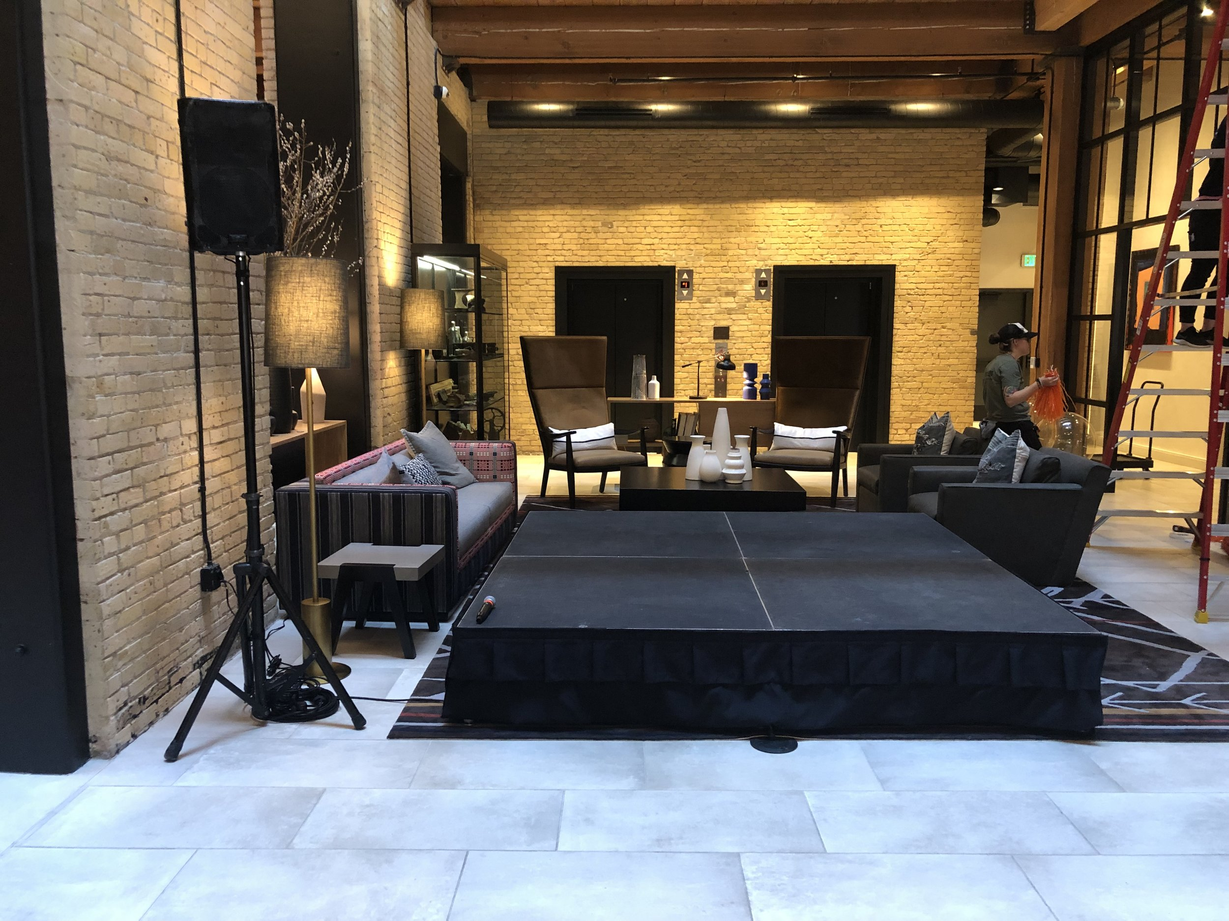 Picture of AV for You Rental Equipment at the Canopy Hotel in Minneapolis
