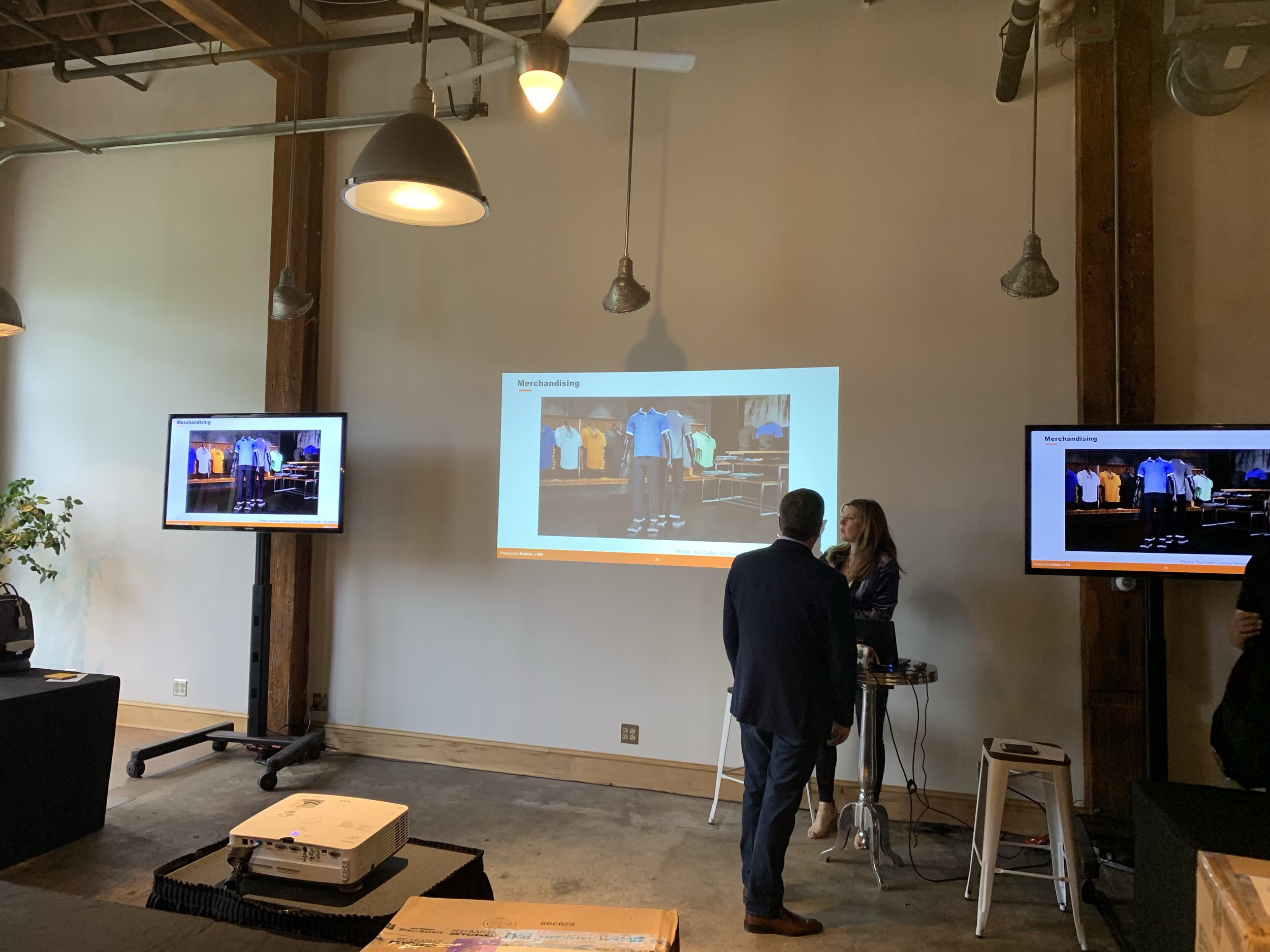 Picture of AV for You Rental Equipment for a Meeting at Alvanon in Minneapolis