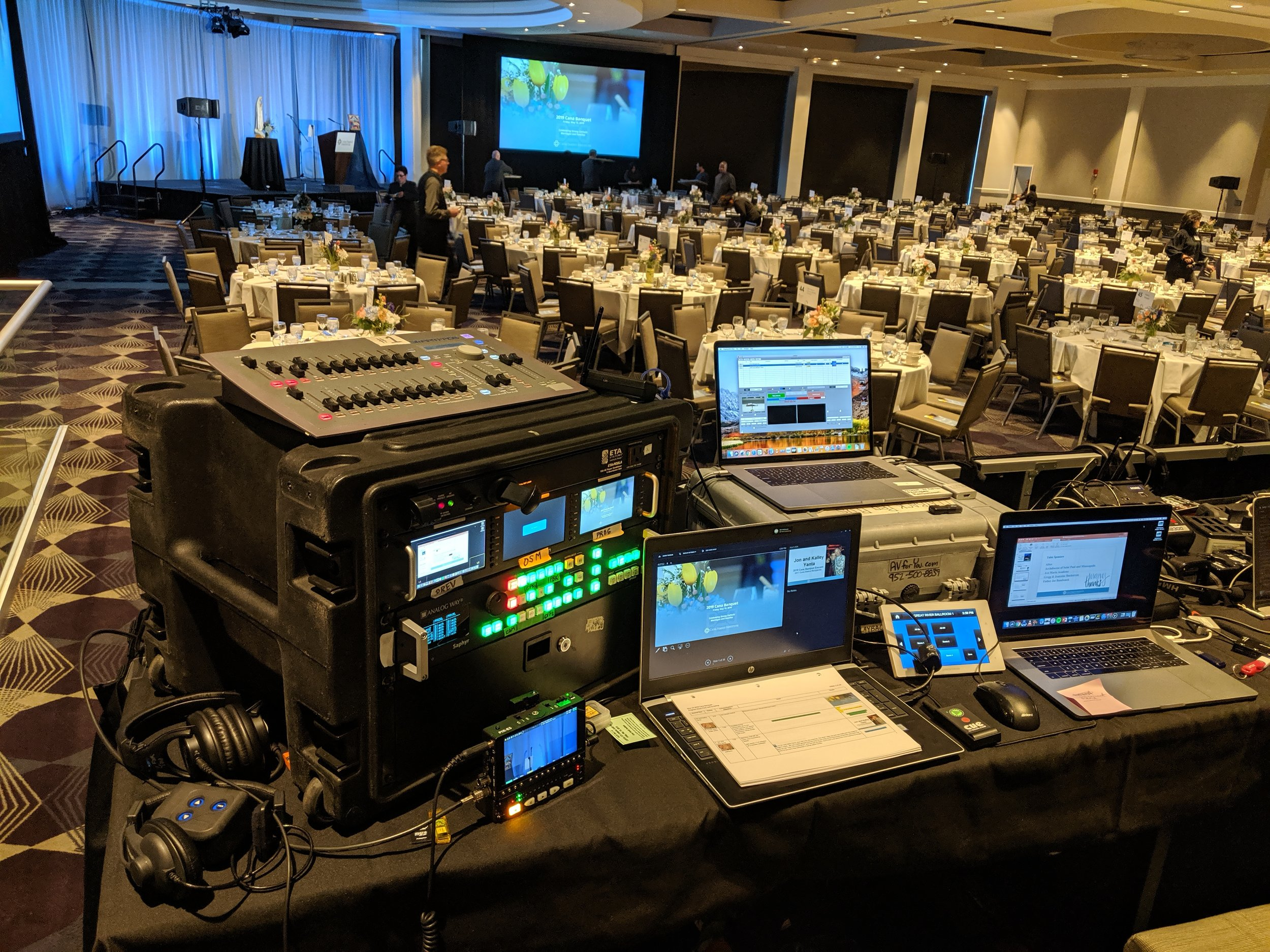 Picture of AV for You Rental Equipment at the Intercontinental Hotel in St Paul