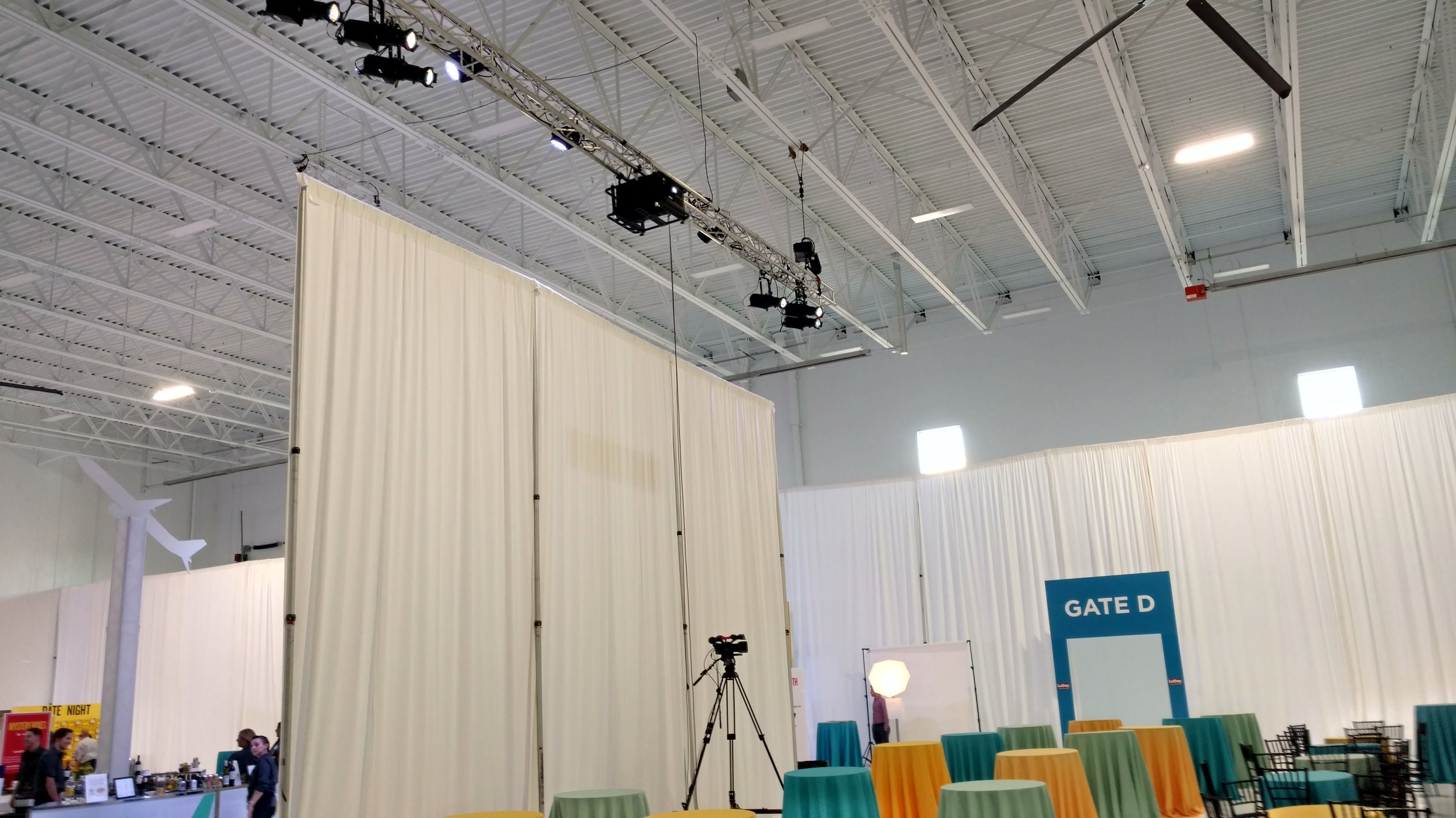 Picture of AV for You Rental Equipment at the Best Jets Hangar in St Paul