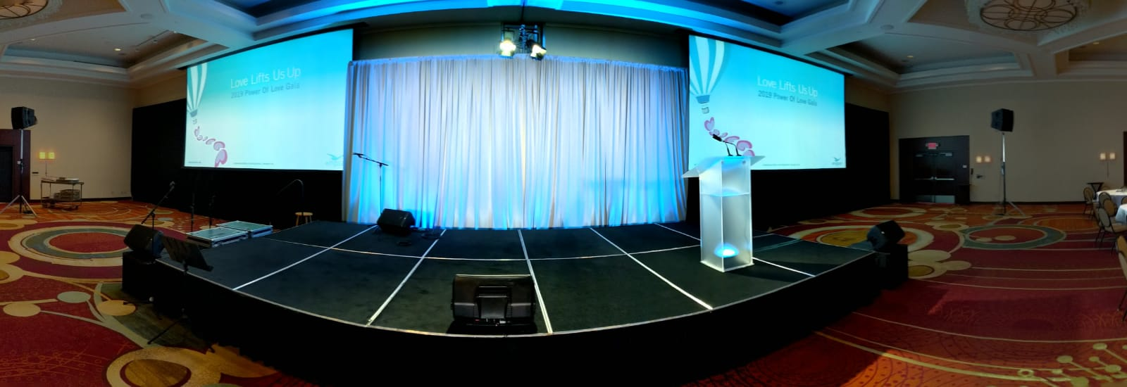 Picture of AV for You Rental Equipment for a Gala at the Minneapolis Marriott Northwest in Brooklyn Park