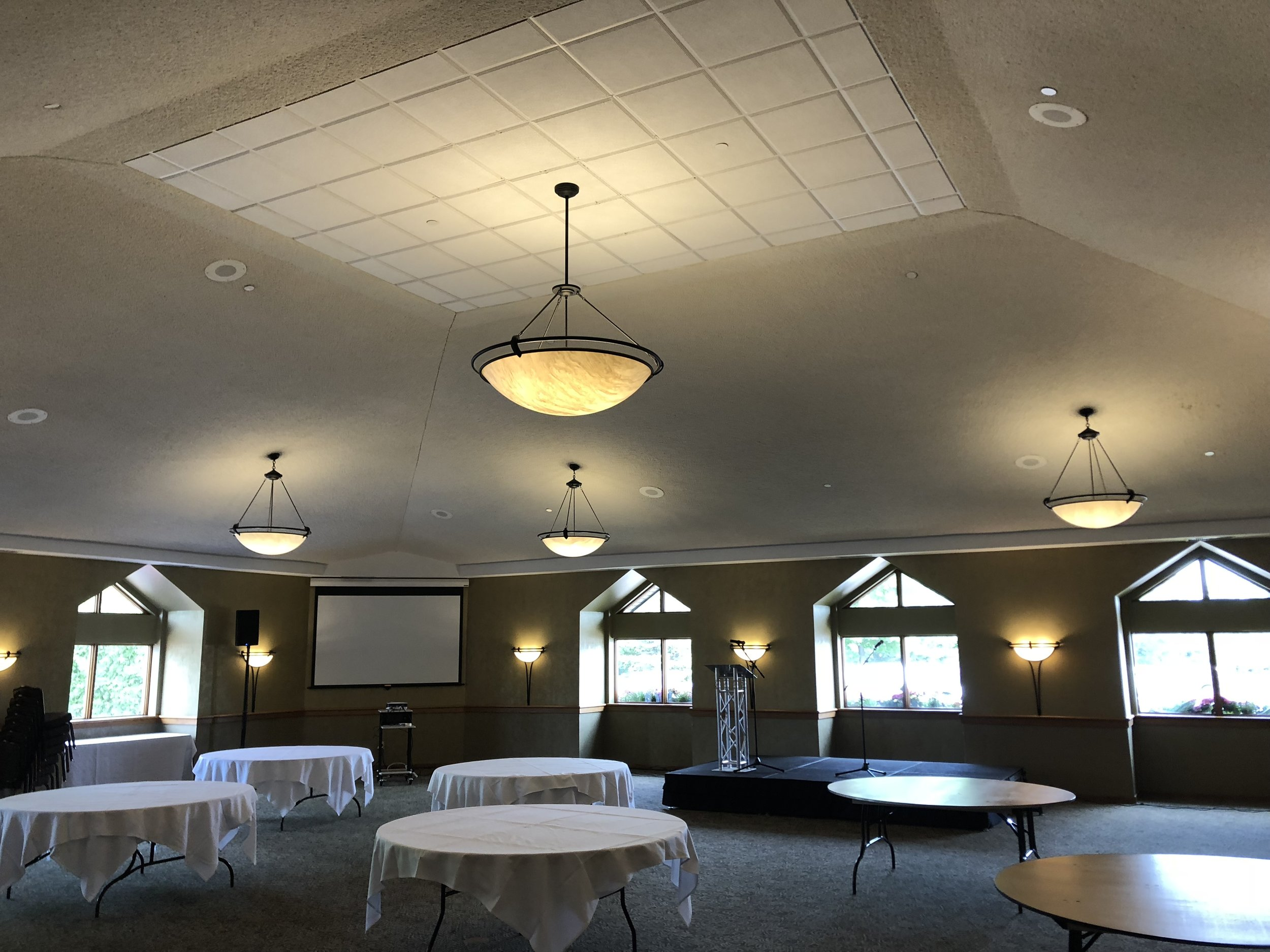 Picture of AV for You Audio and Staging Rental Equipment at the Southview Country Club in St Paul
