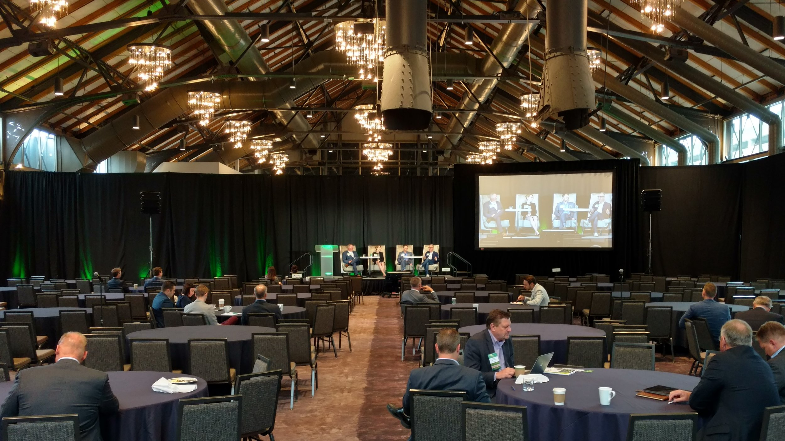 Picture of AV for You Rental Equipment at a corporate conference in The Depot, Minneapolis