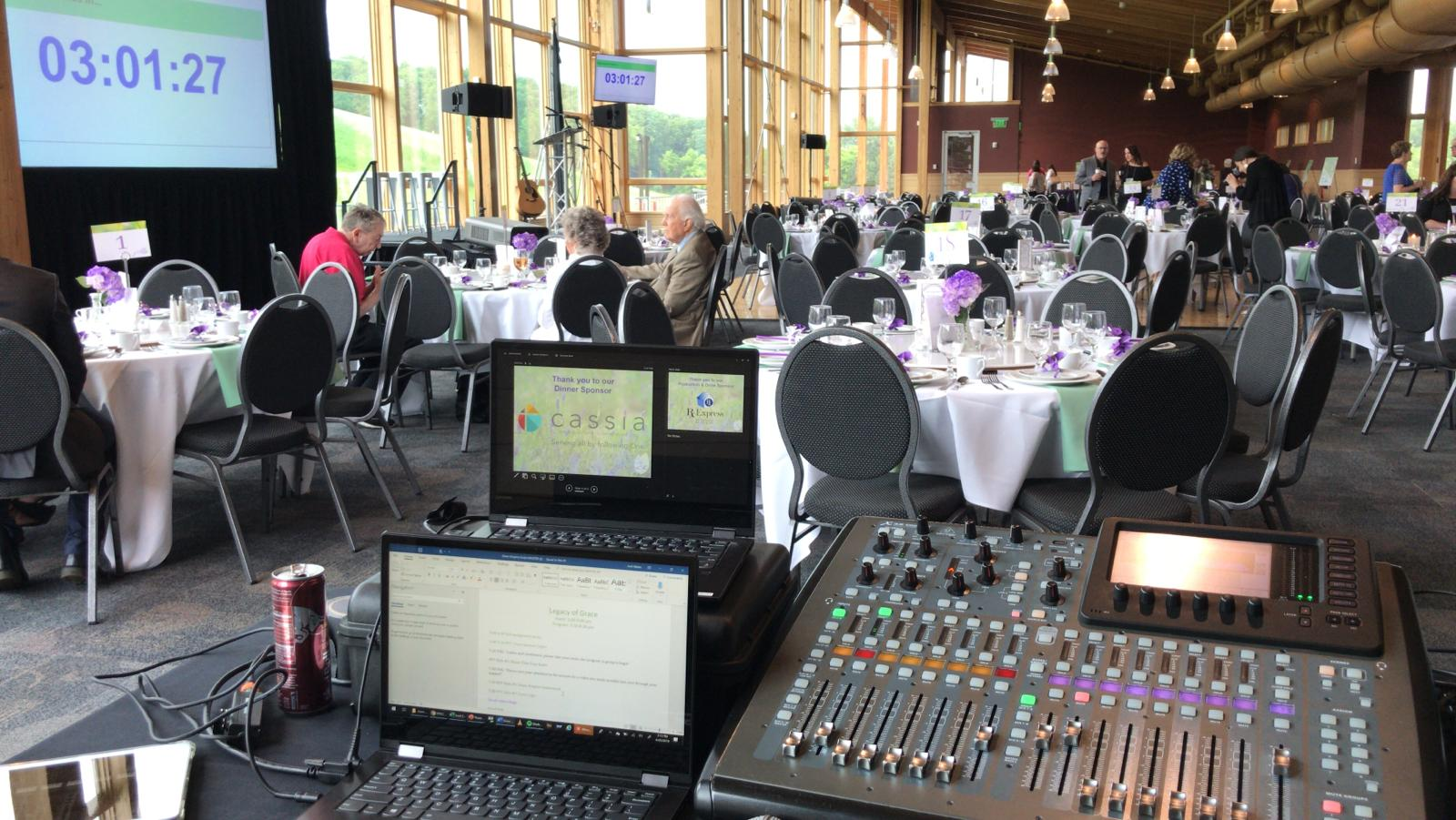 Picture of AV for You Rental Equipment at the Hyland Hills Chalet in Bloomington, MN