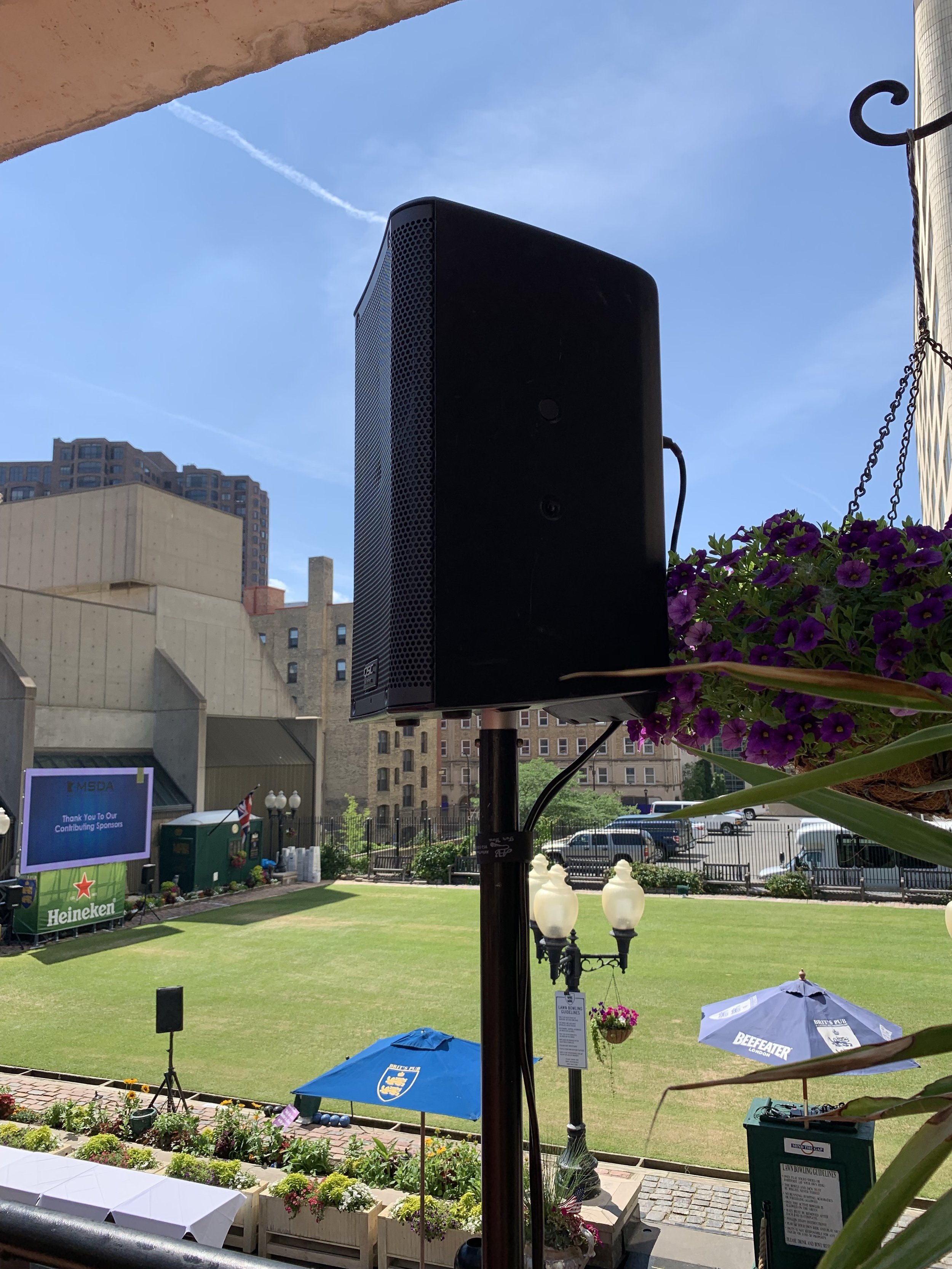 Picture of AV for You Audio Rental Equipment at a Brit's Pub Event in Minneapolis