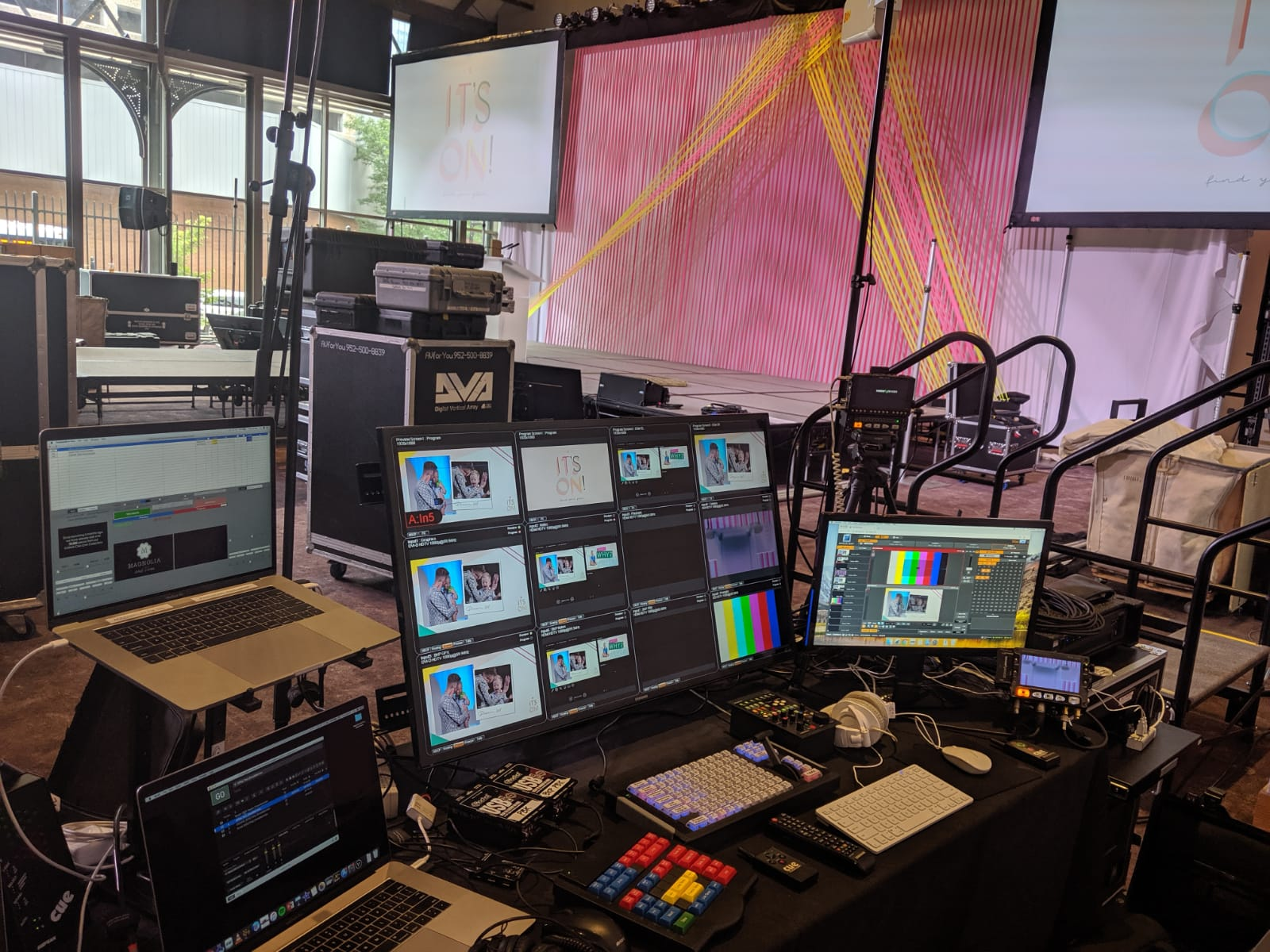Picture of AV for You Rental Equipment for a Conference at The Depot Hotel in Minneapolis