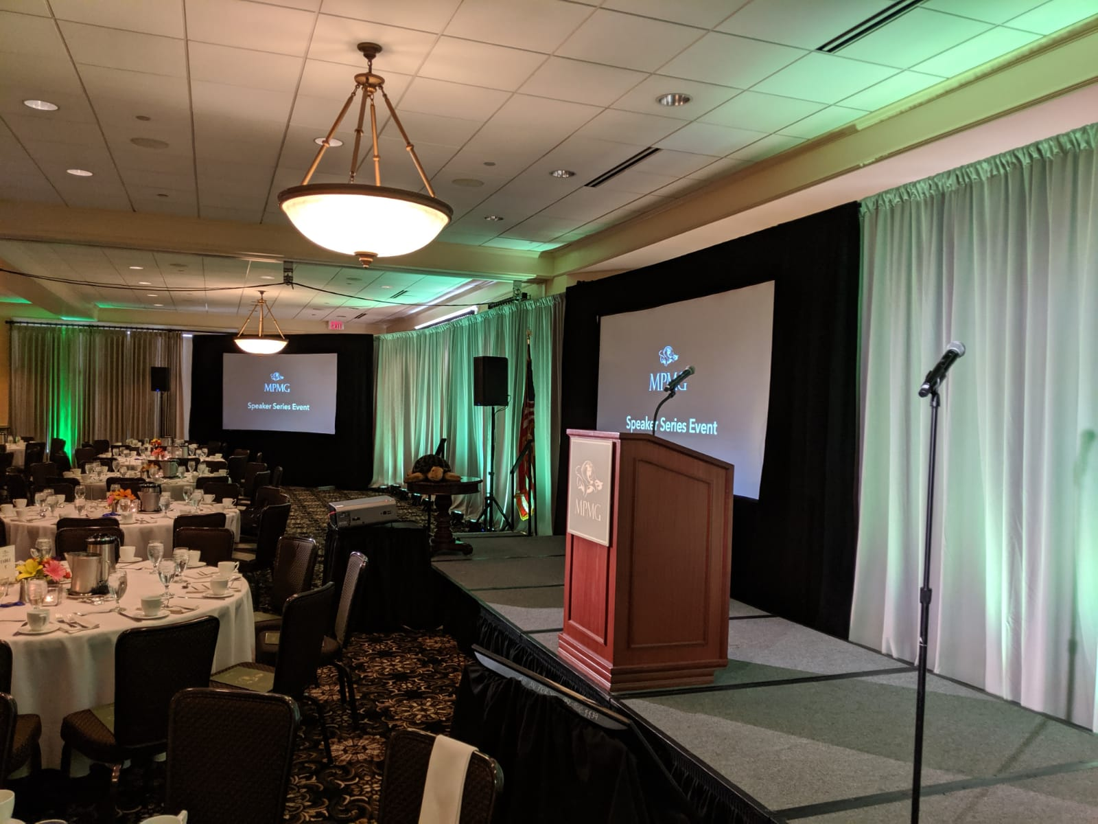 Picture of AV for You Rental Equipment at the Golden Valley Country Club