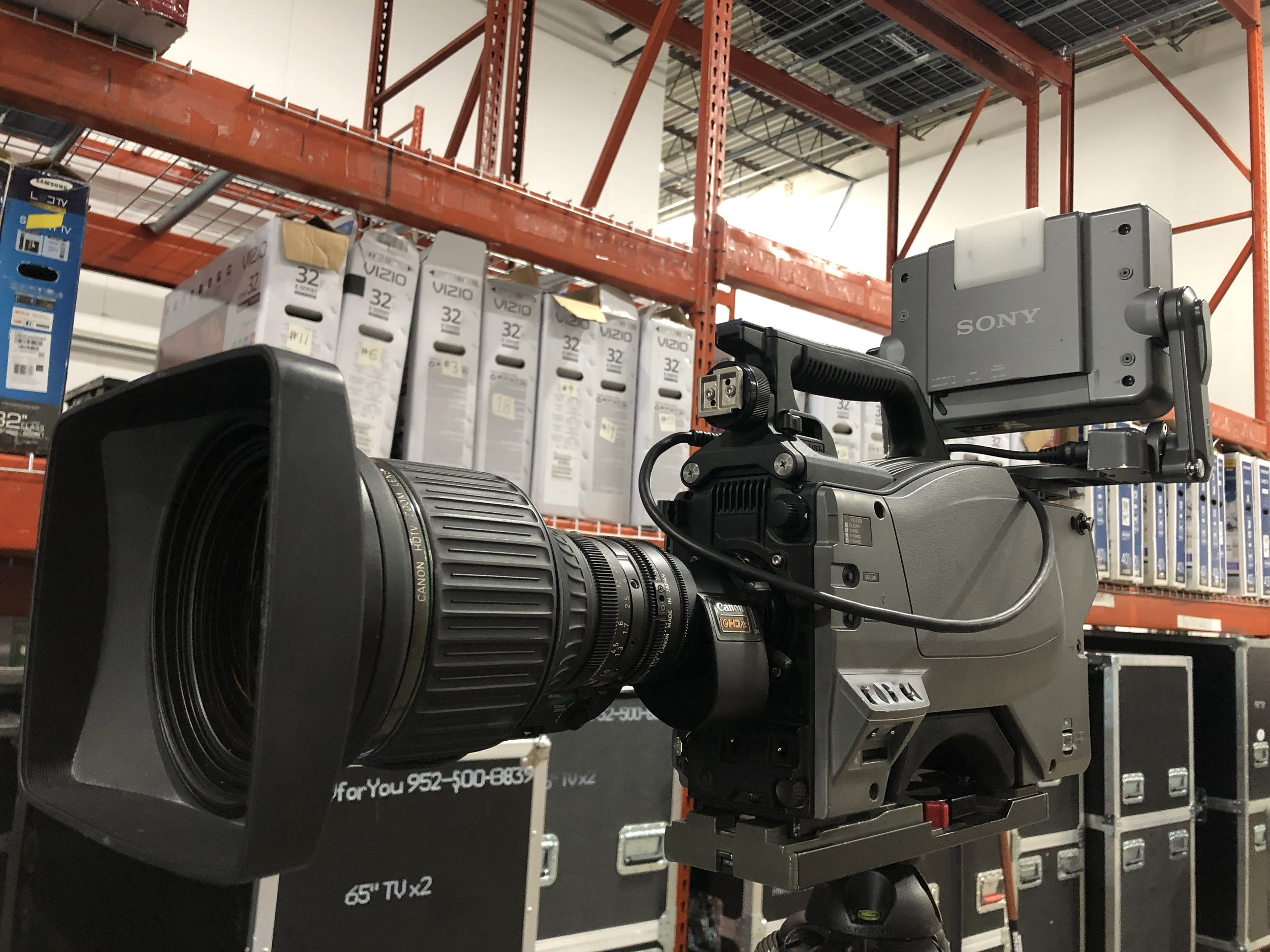 Picture of AV for You Sony HXC-100 Camera and Lens Rental Equipment