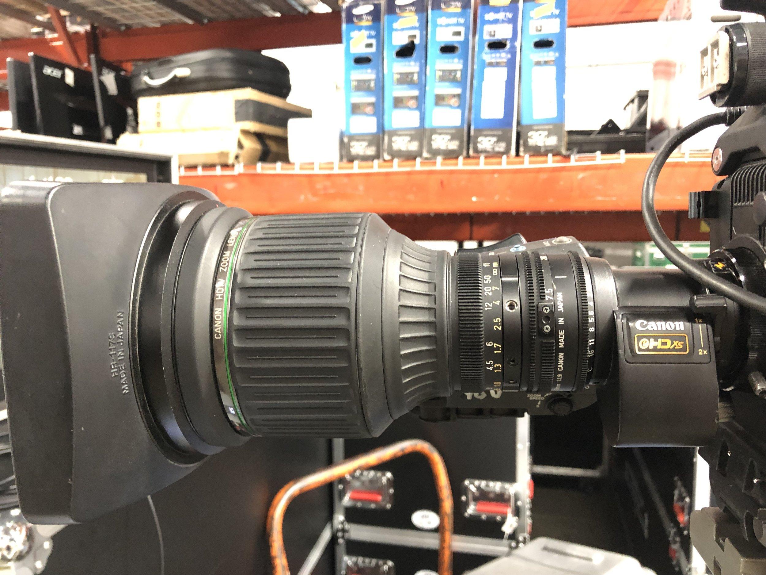 Picture of AV for You Canon Lens Rental Equipment