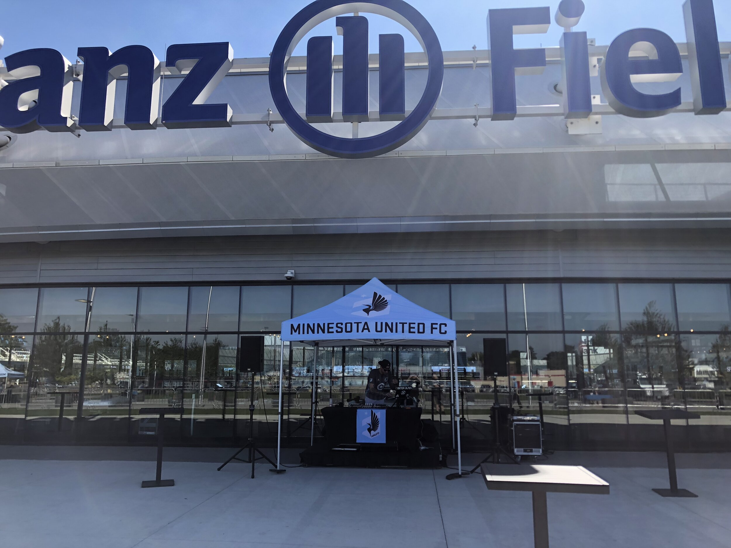 Picture of AV For You Audio Rental Equipment at Allianz Field in St Paul