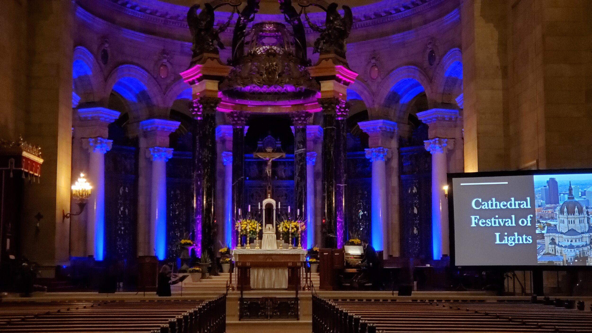 Picture of AV For You Lighting Rental Equipment at the Cathedral in St Paul