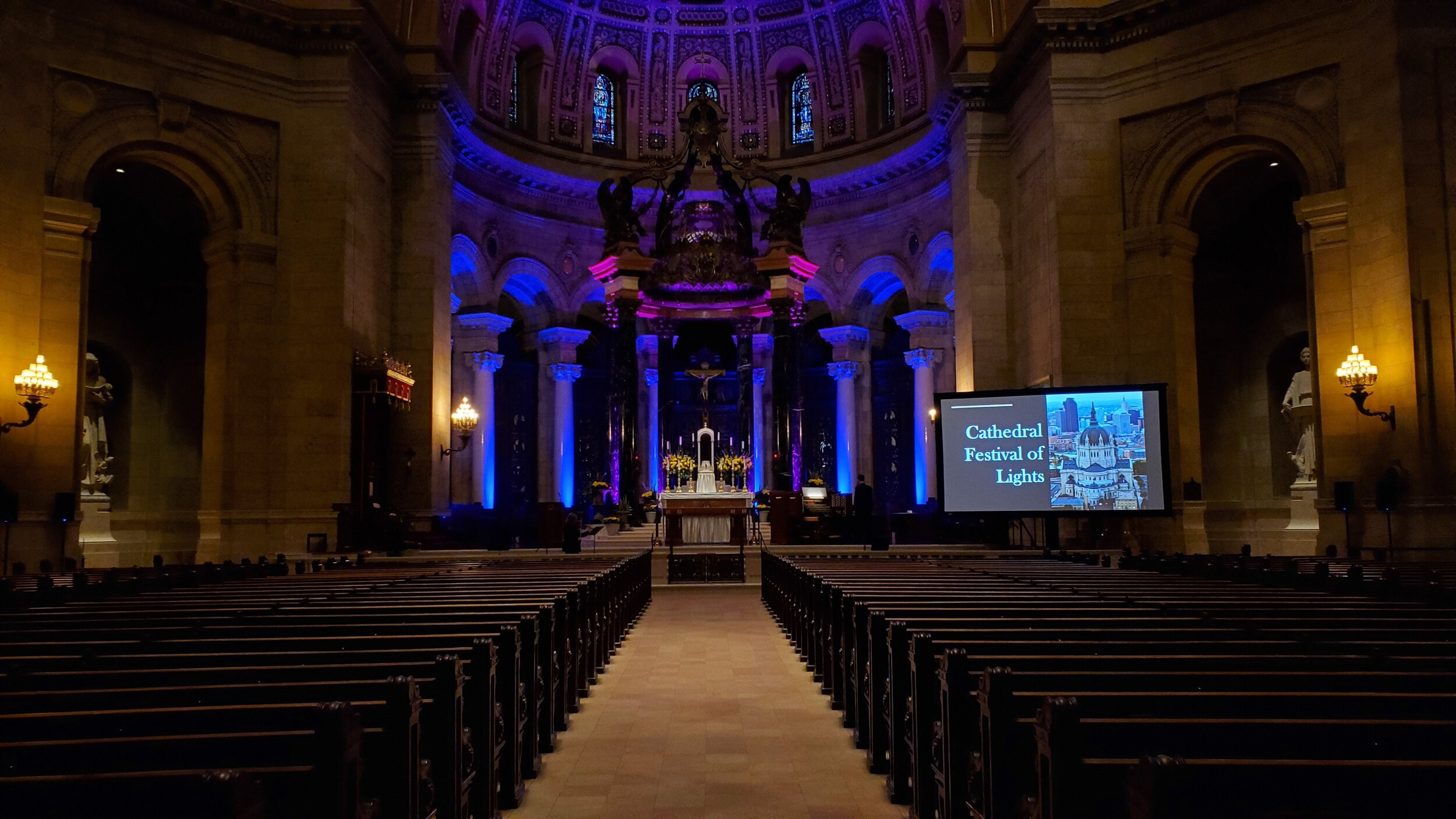 Picture of AV For You Audio Visual Rental Equipment at the Cathedral in St Paul