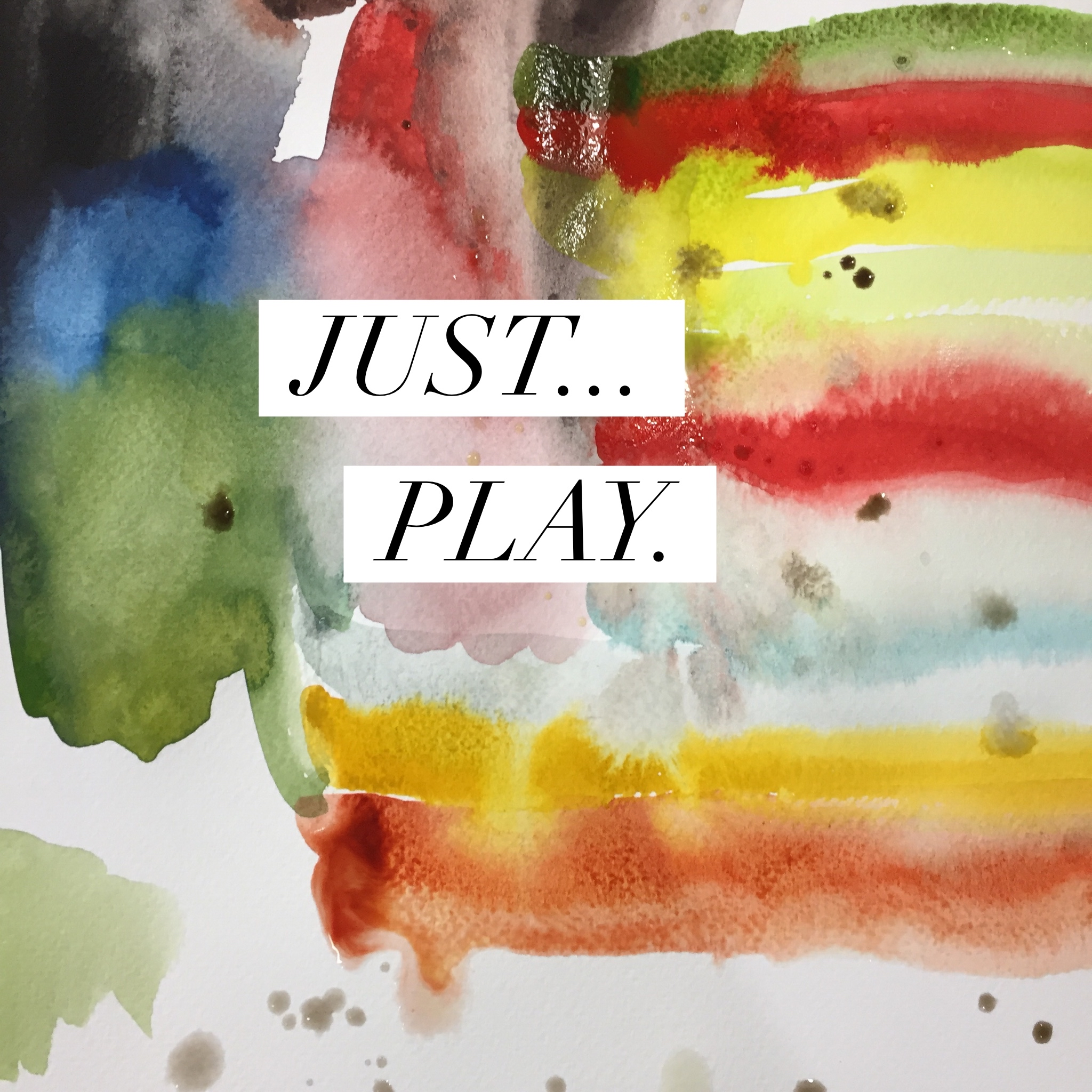 Play with watercolor