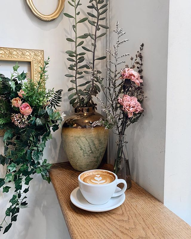 Due to maintenance, we are unable to serve espresso drinks from 11:30 - 3:30 today. We will still serve iced coffee, drip coffee and the flower shop is still open! ☕️💐