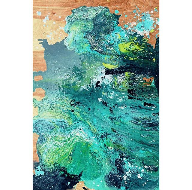 Wave - Abstract Acrylic Pour Spring 2018