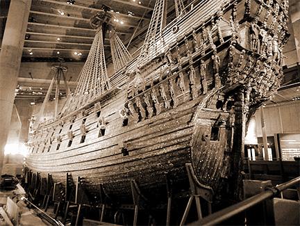 Ship Vasa, Sweden