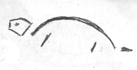 The original One Good Turtle sketch