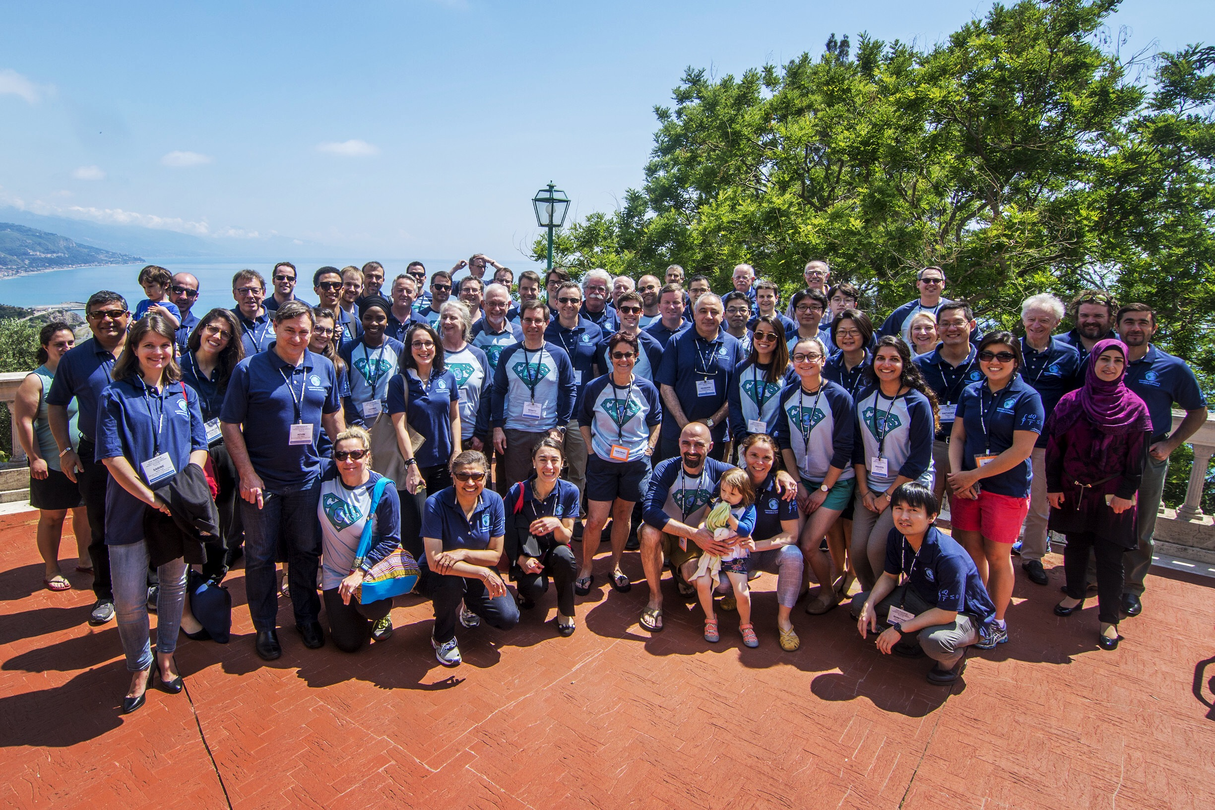 Attendees of the ECI CO2 Summit III conference in Calabria, Italy, May 2017.