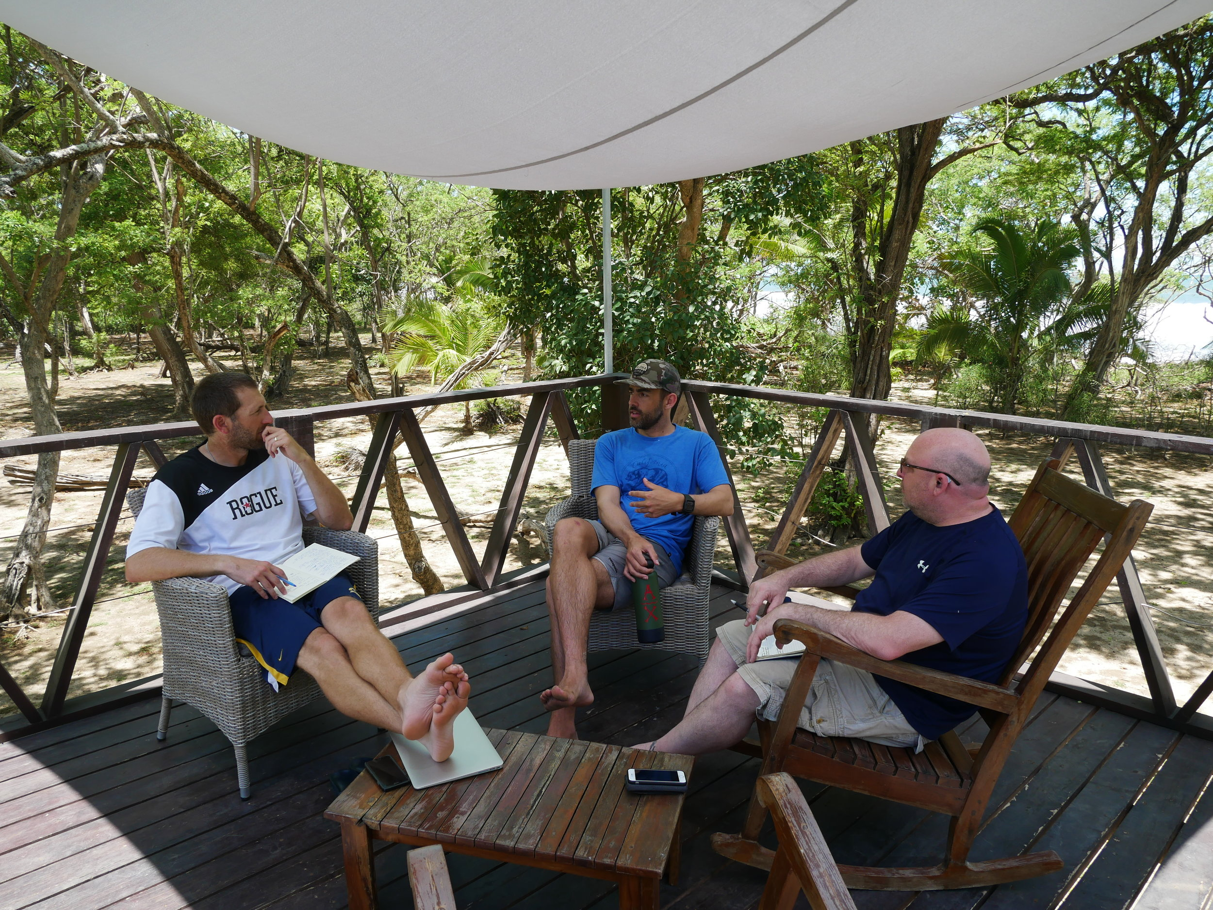 "Surf & Sales ""Board Meeting"" in Playa Grande, May 2018"