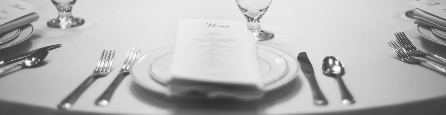 Menu Table Setting
