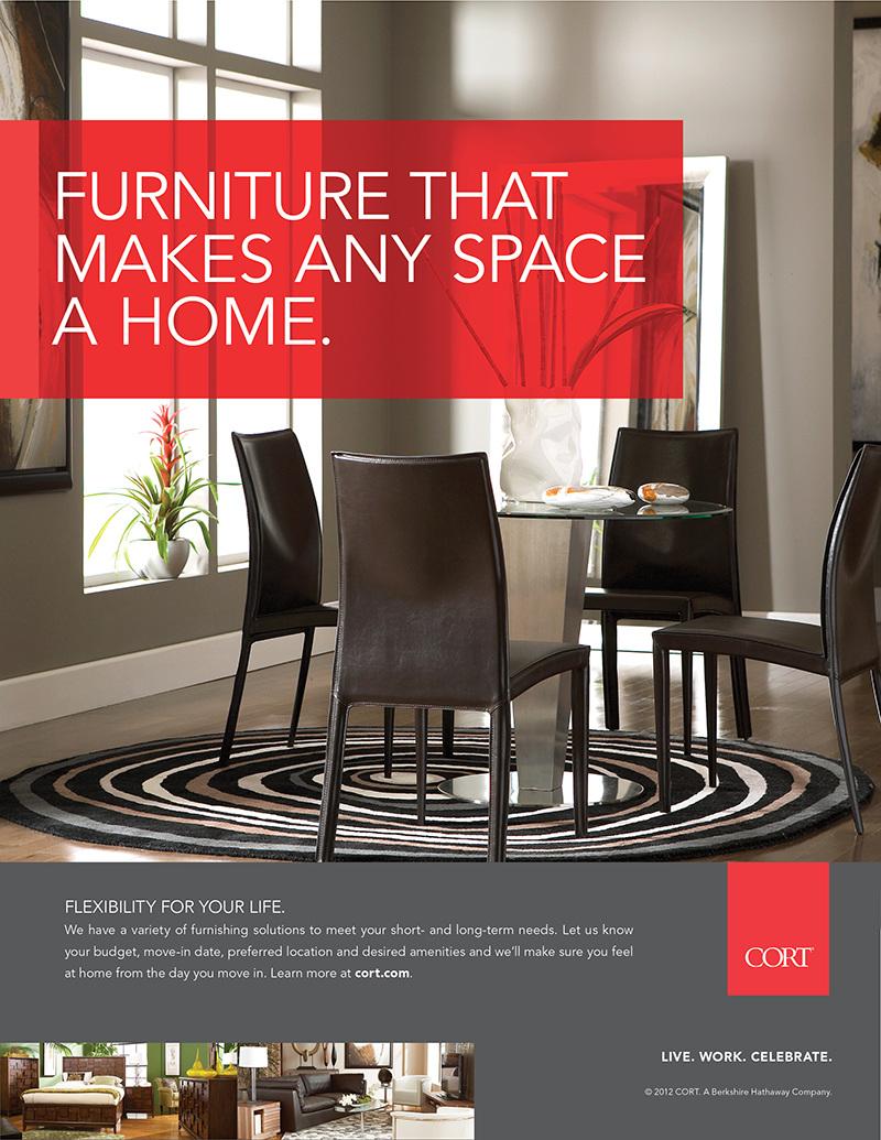 Cort Furniture 12º Rebranding — Teter Creative