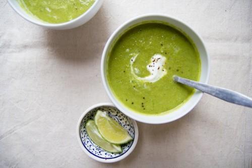 Pea and Pesto Soup