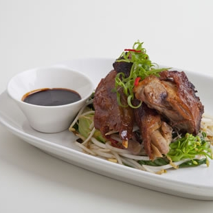 Master Stock with Crispy Fried Duck