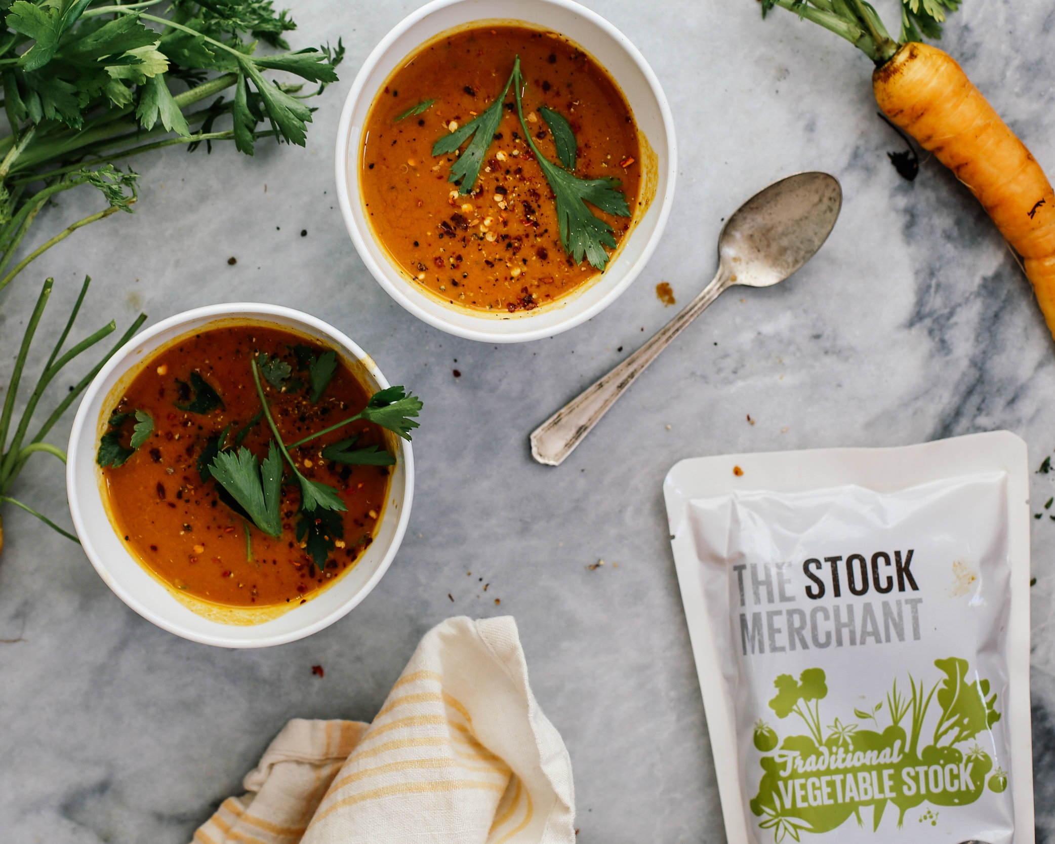 Vegetable Stock - From risottos to soups, incredible flavour starts here.