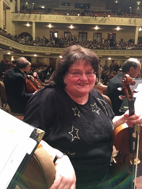 Carol Hutter - Viola