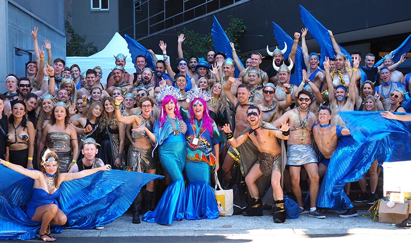 The 2016 SQI Mardi Gras entry.