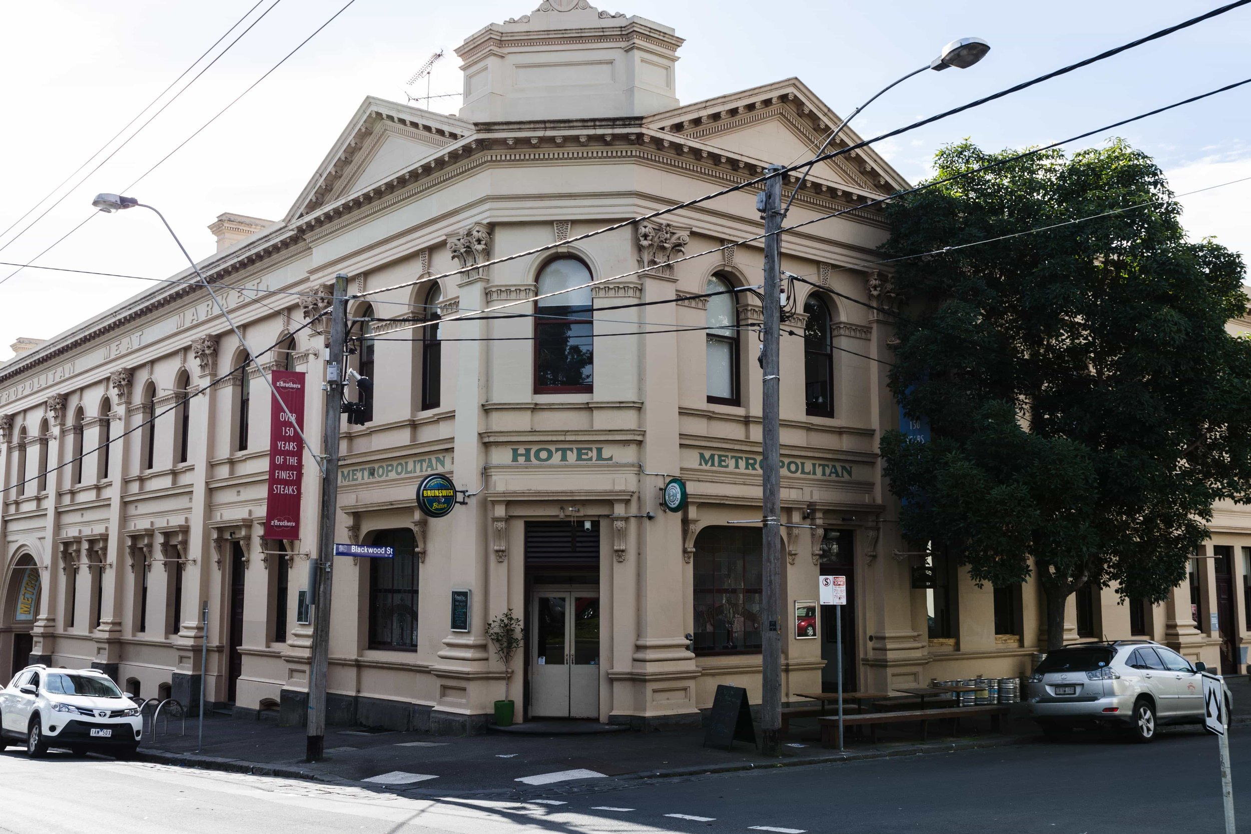The Celtic Club Melbourne's new premises for the next three to four years in Courtney St, North Melbourne